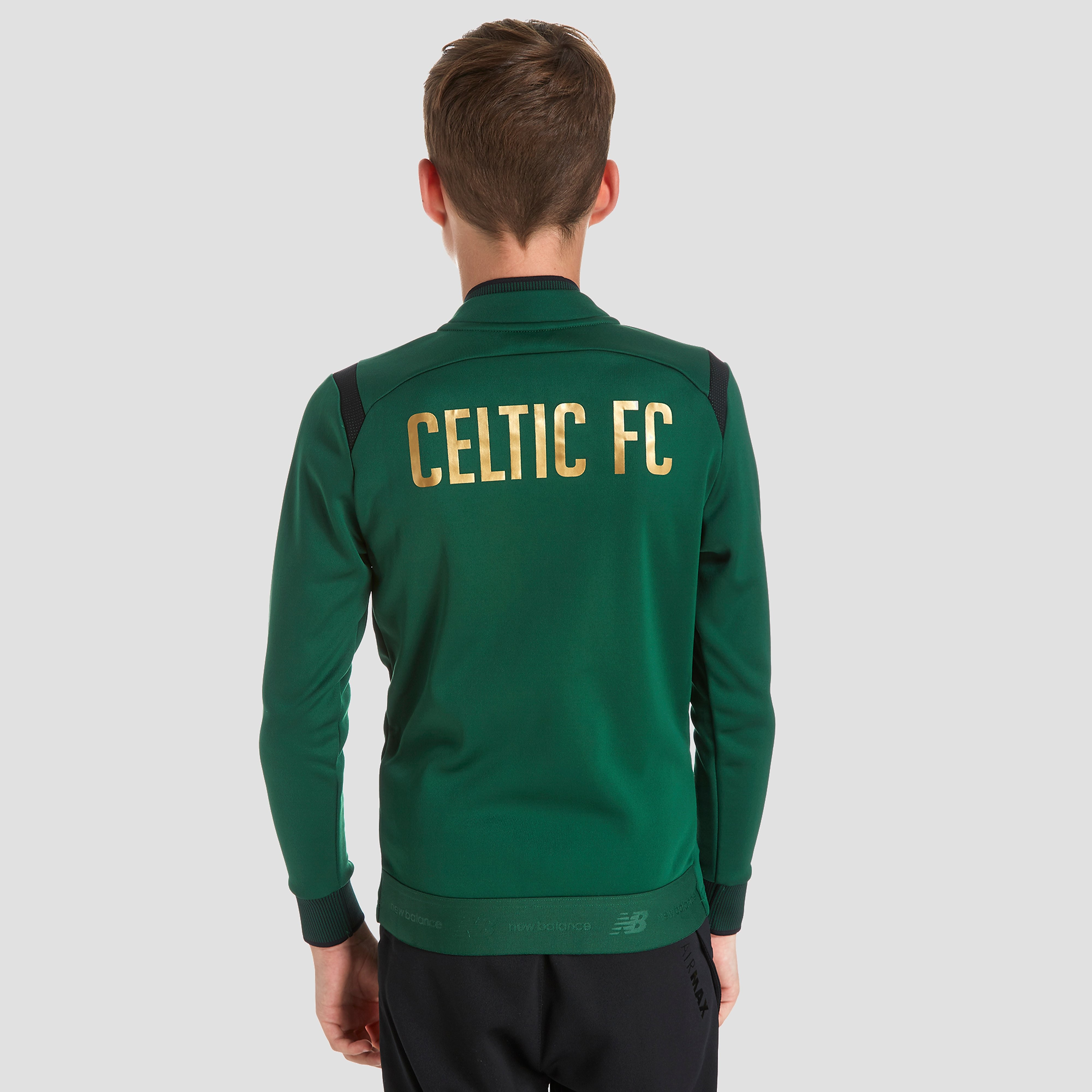 New Balance Celtic FC Walk Out Jacket Junior