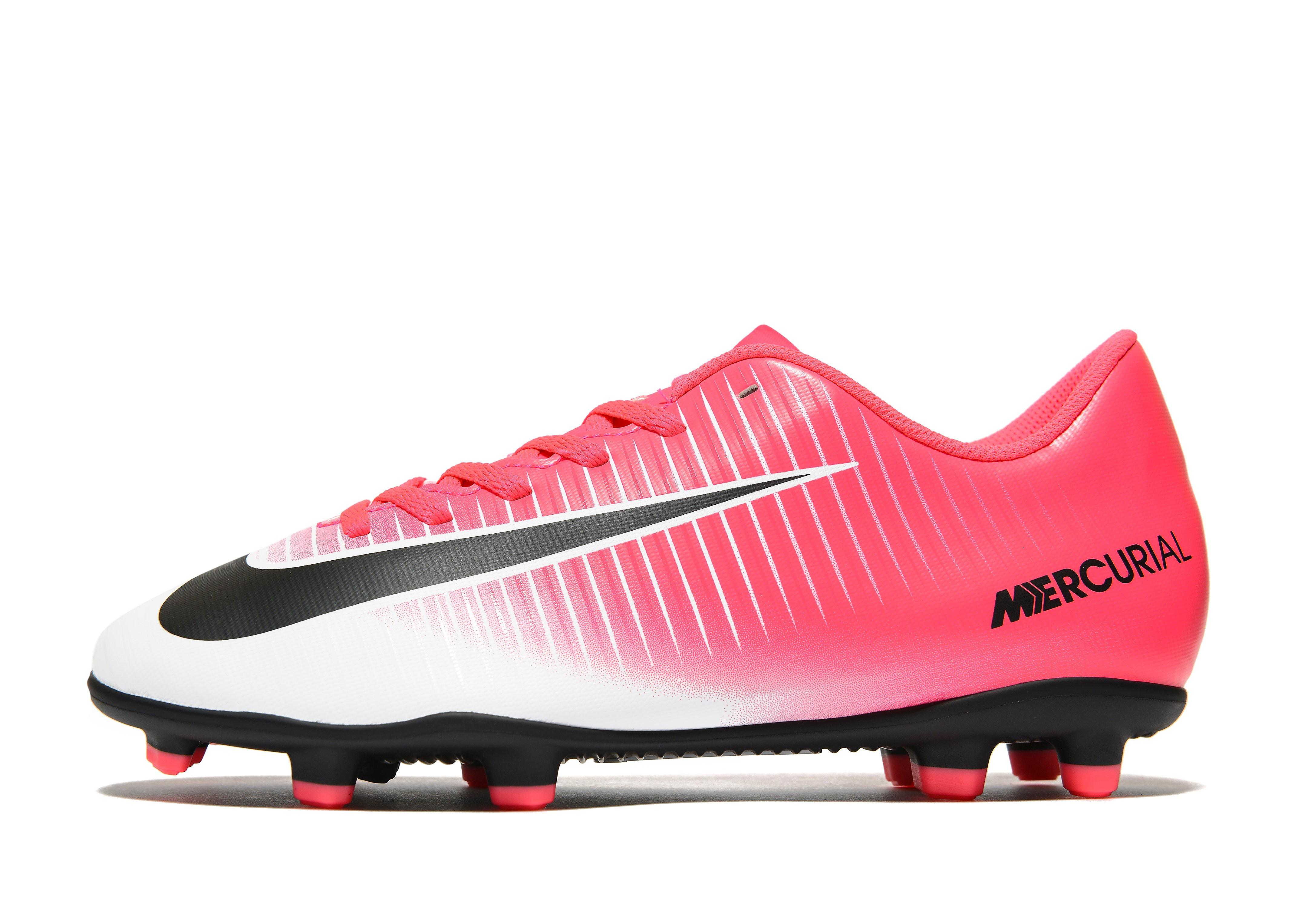 Nike Motion Blur Mercurial Vortex Junior FG Football Boots