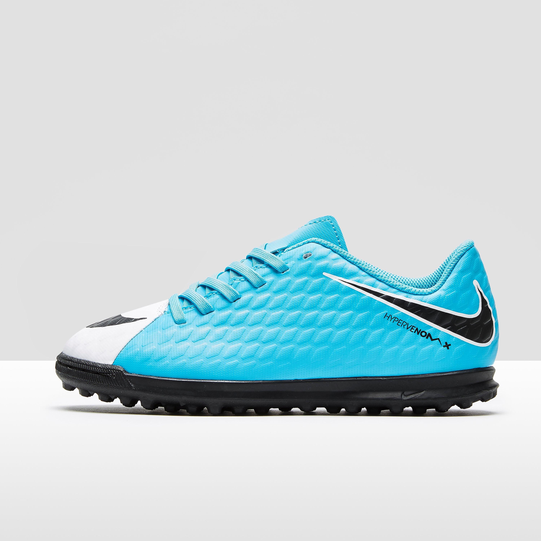 Nike Motion Blur Hypervenom Phade Children's TF Football Boots