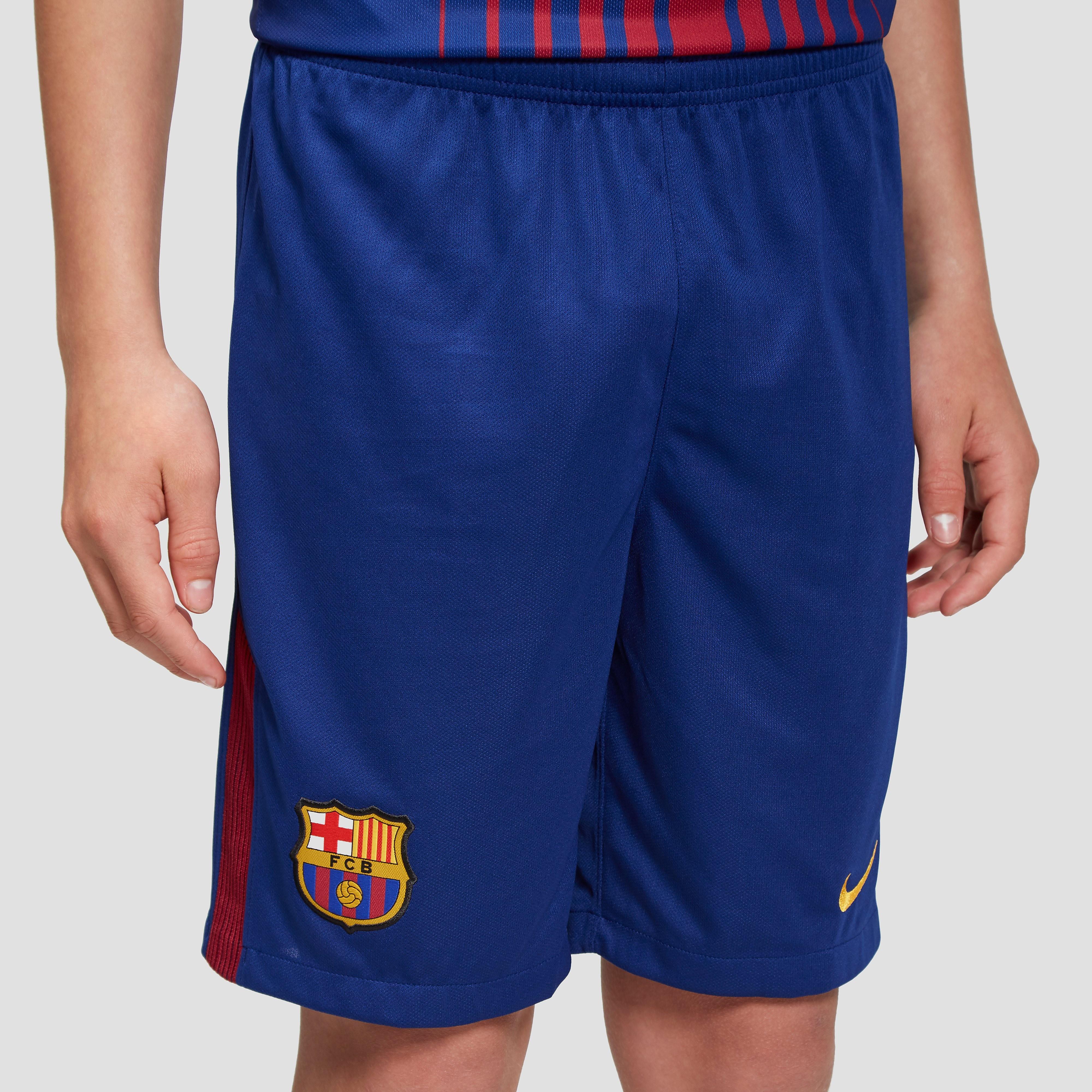 Nike Barcelona 2017/18 Junior Home Shorts
