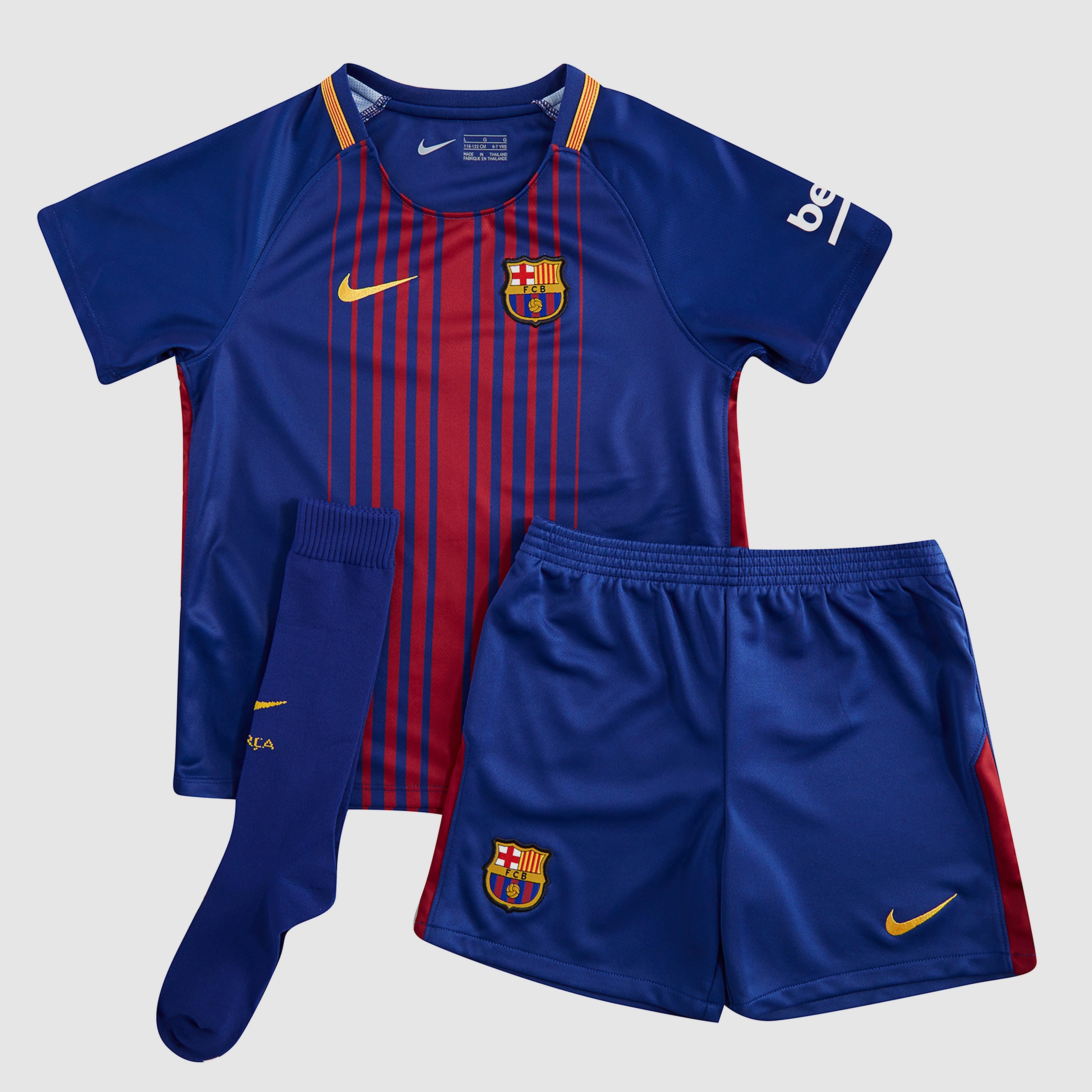 Nike Barcelona 2017/18 Children's Home Kit