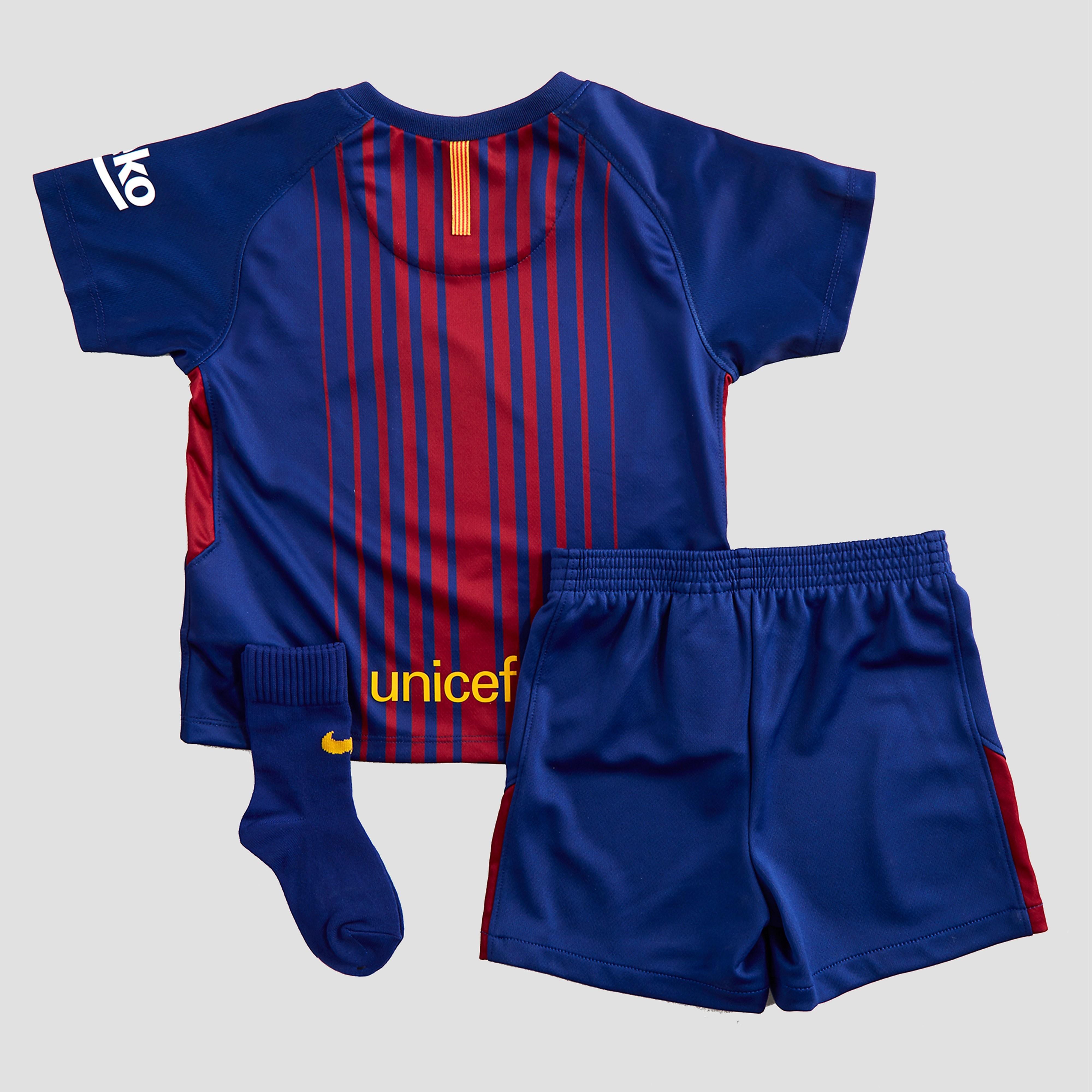 Nike Barcelona 2017/18 Infant Home Kit