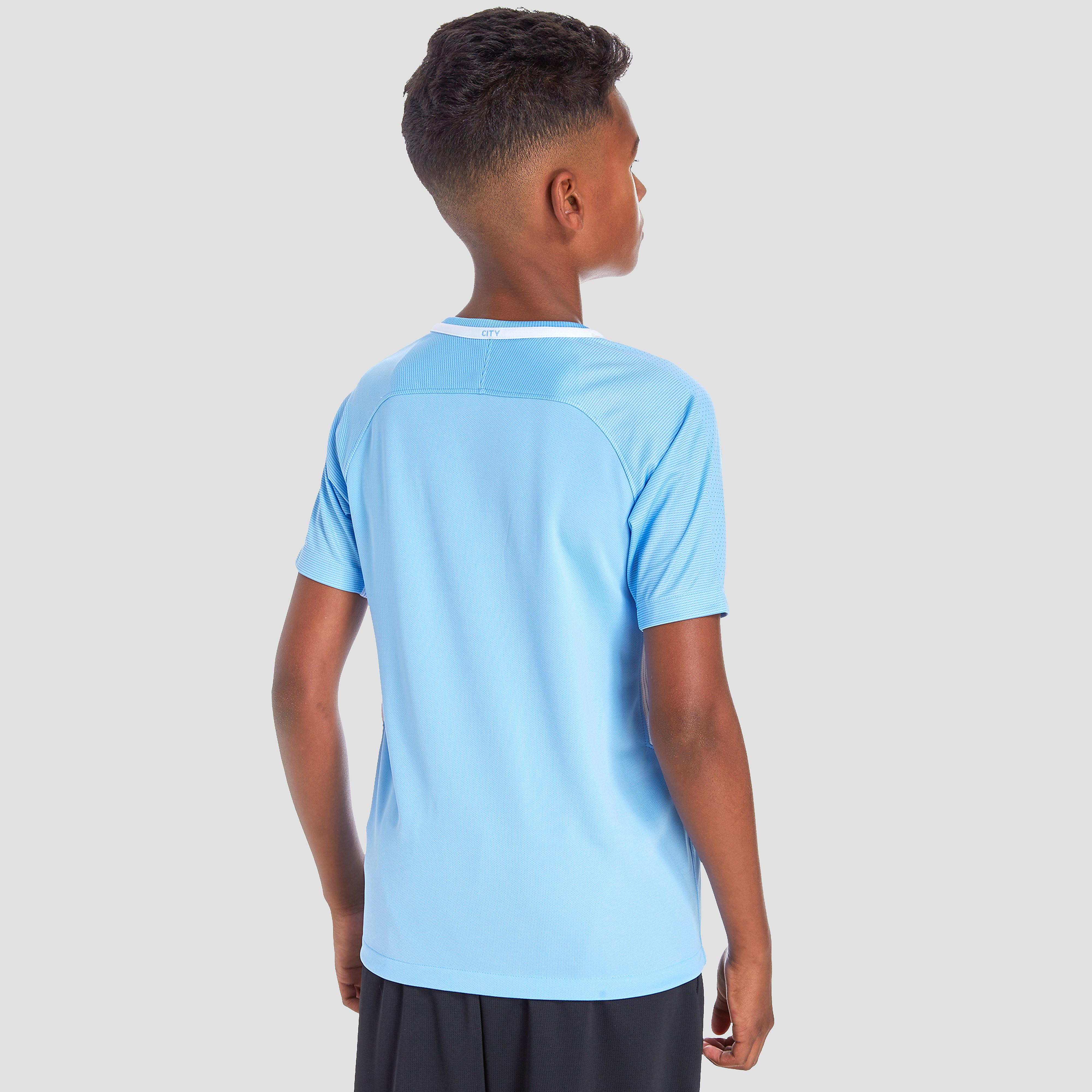Nike Manchester City FC 2017 Junior Home Shirt