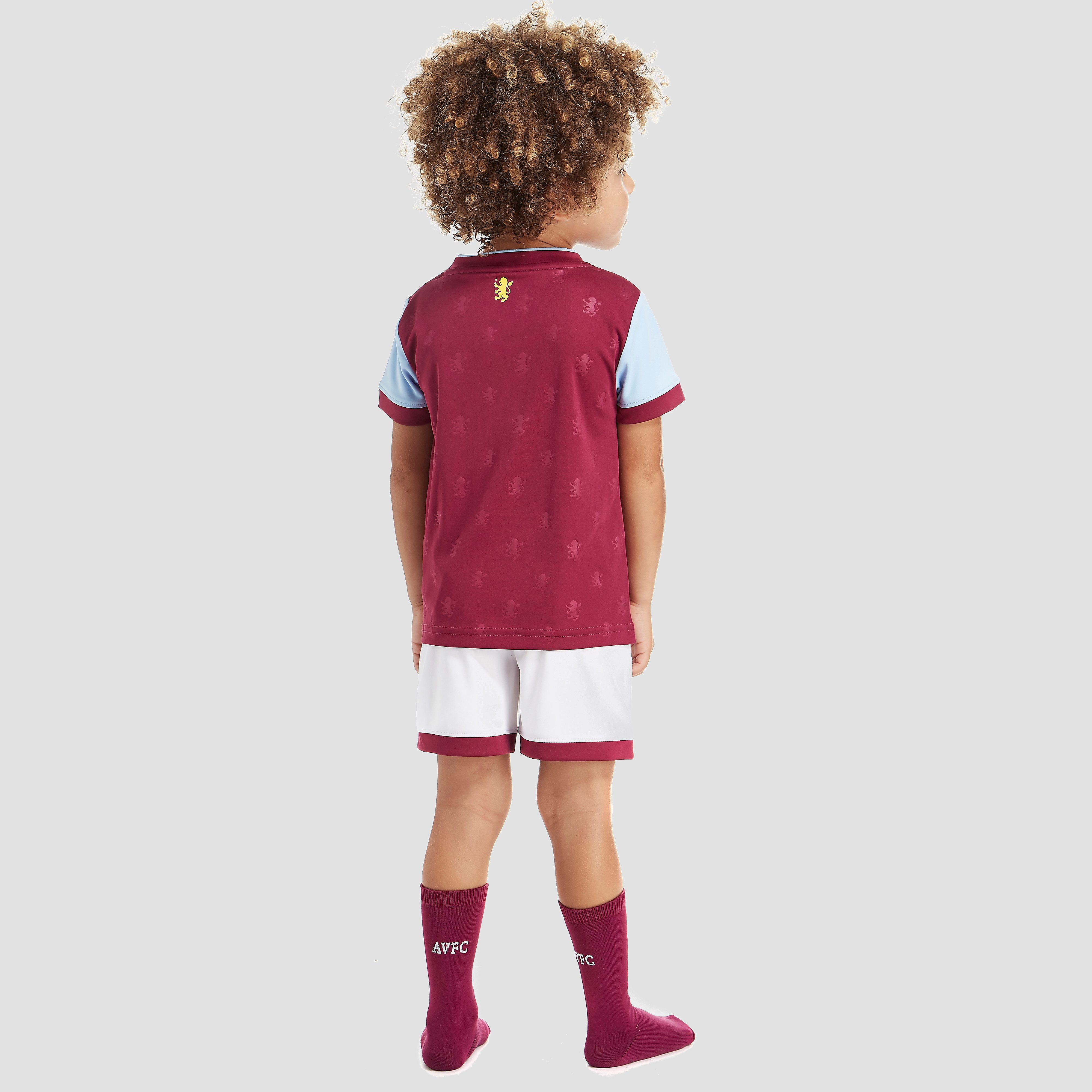 Under Armour Aston Villa 2017/18 Home Kit Children