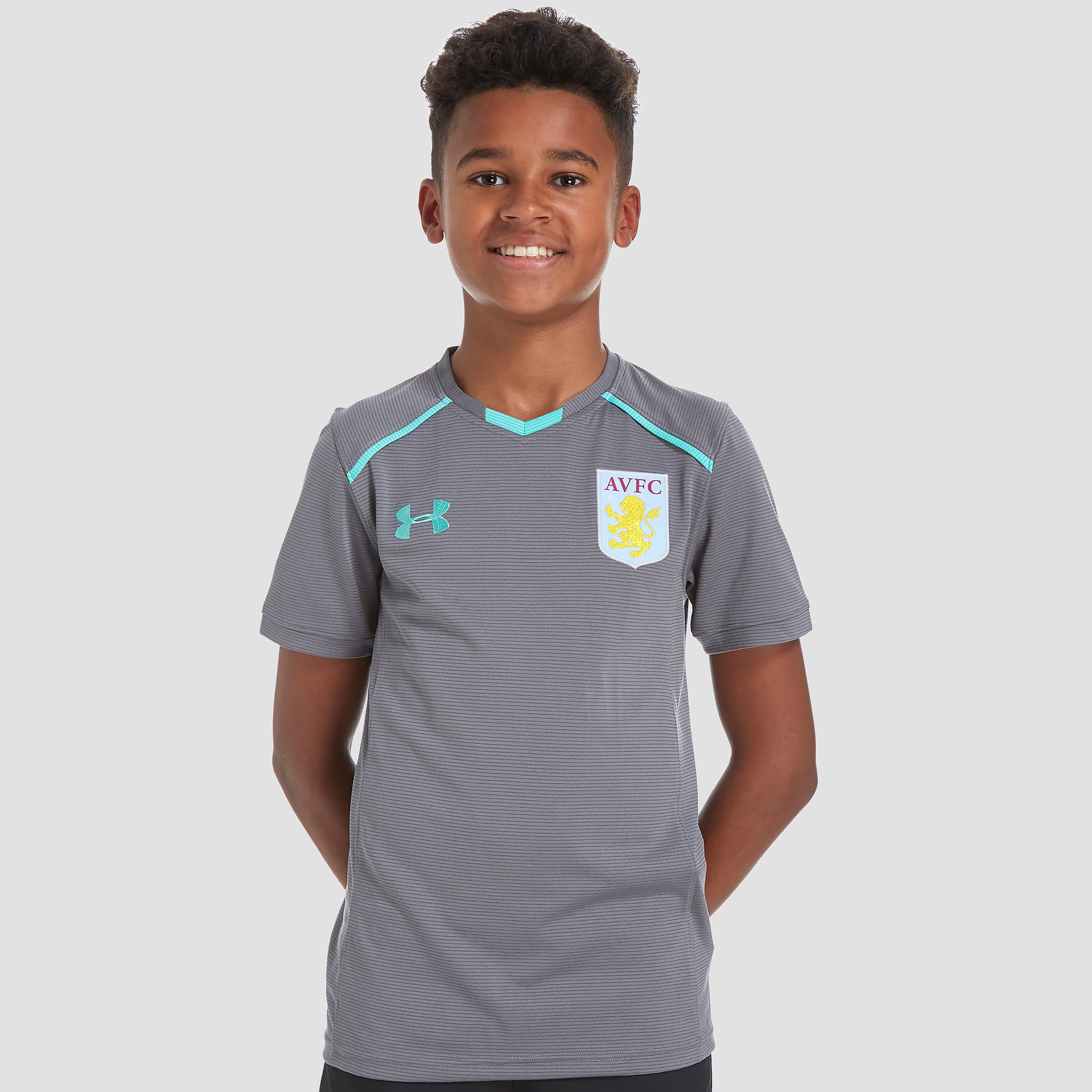 Under Armour Aston Villa 2017/18 Junior Training T-Shirt