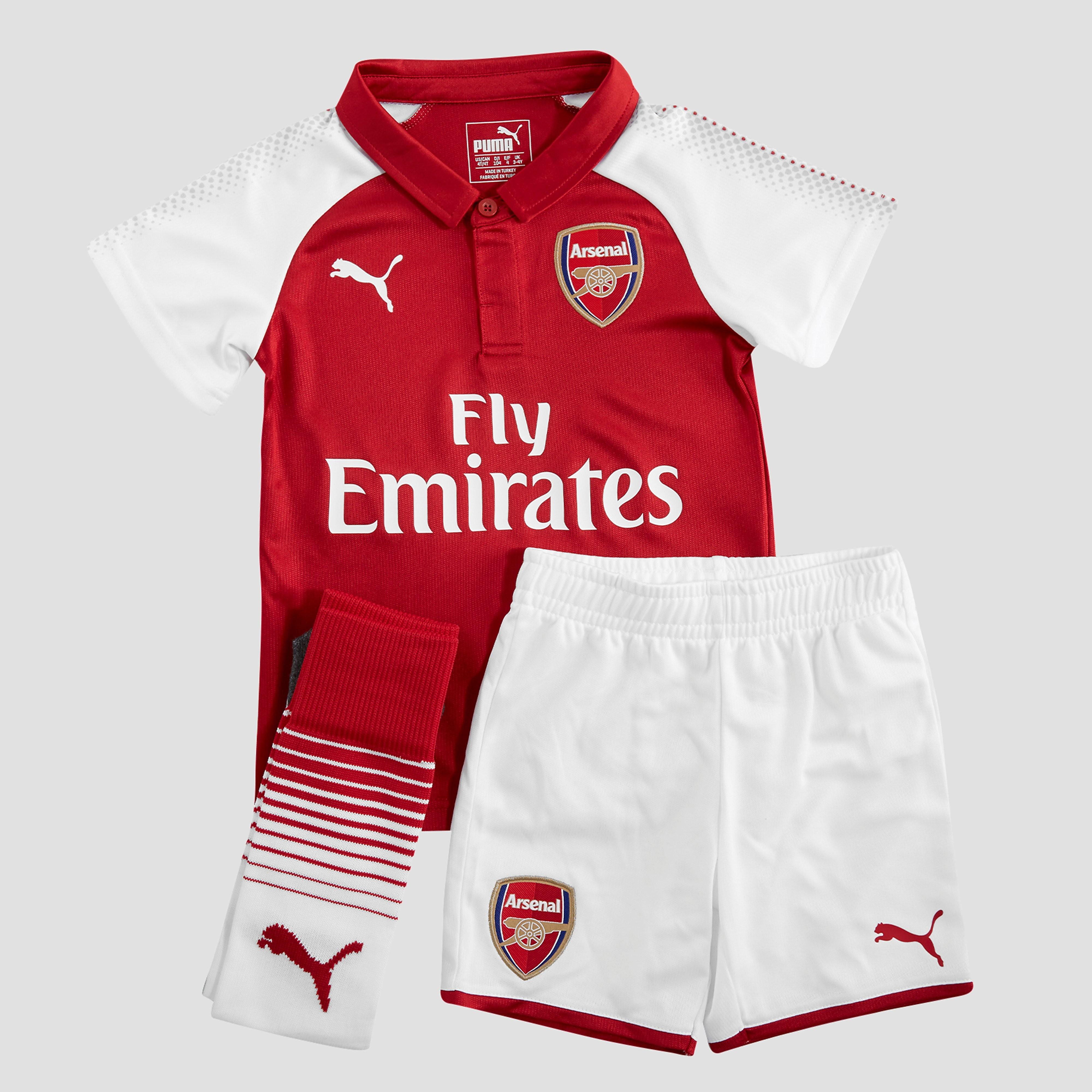 PUMA Arsenal FC 2017/18 Home Kit Children