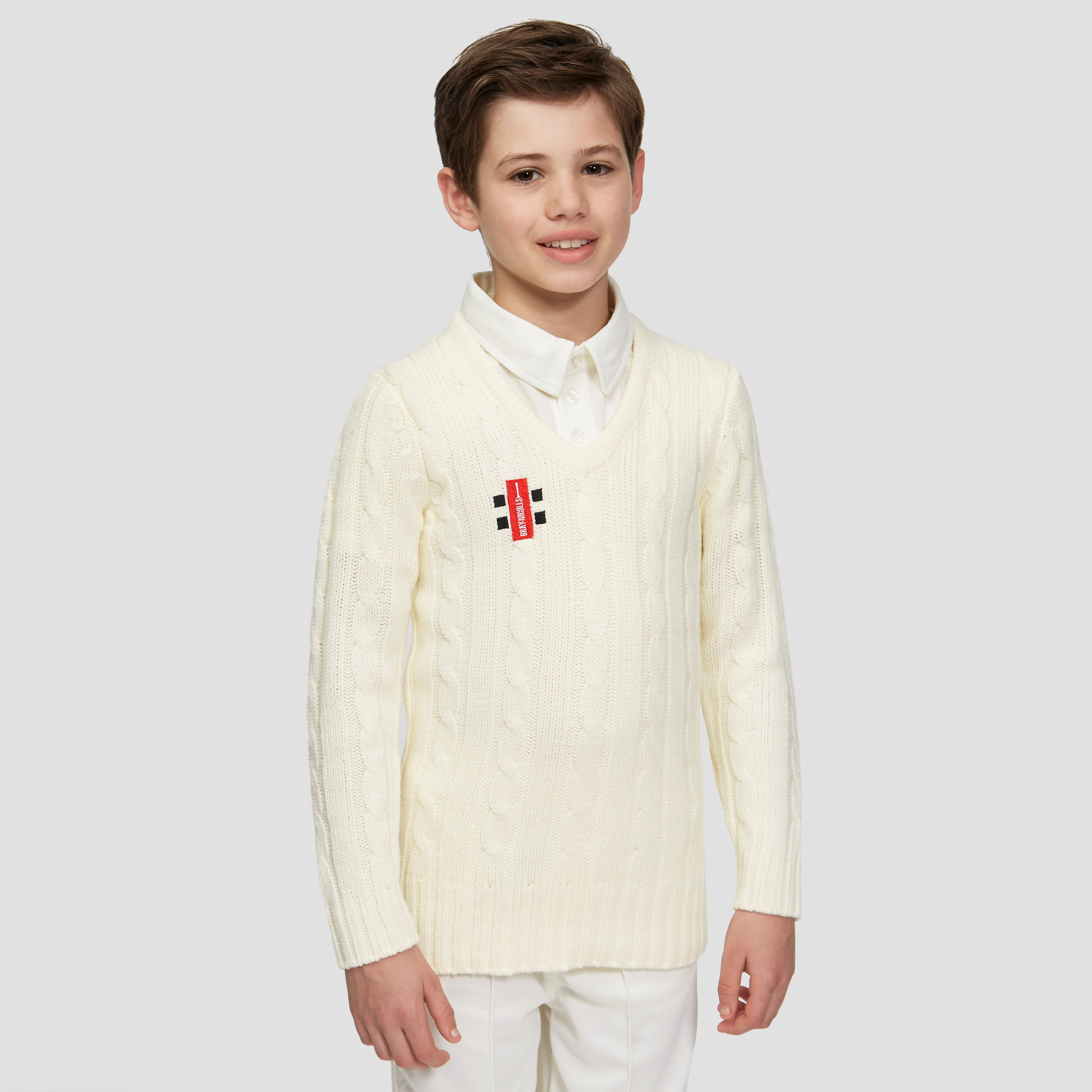 Gray-Nicolls Knitted Acrylic Junior Cricket Sweater