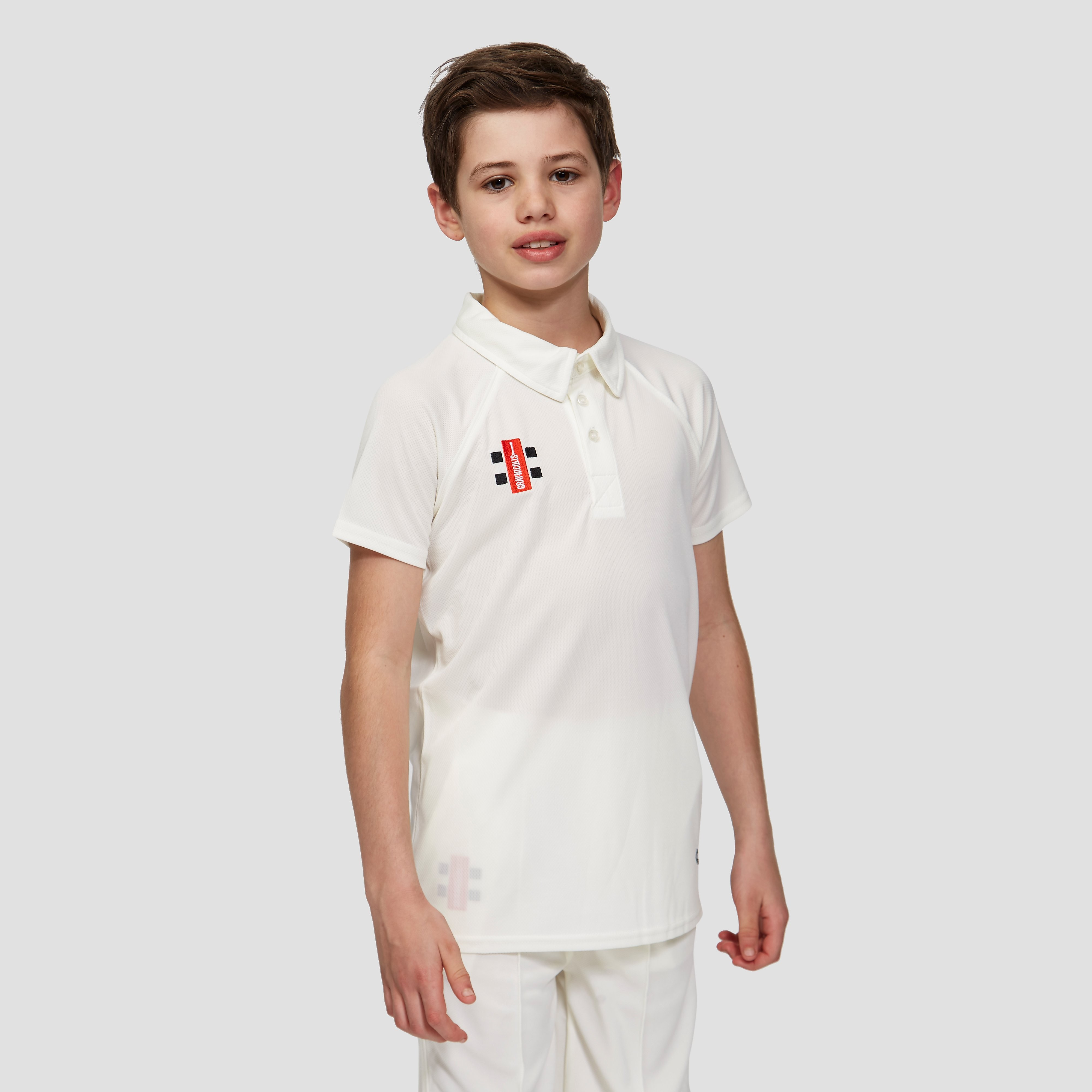Gray Nicolls Matrix Short Sleeve Junior Cricket Polo