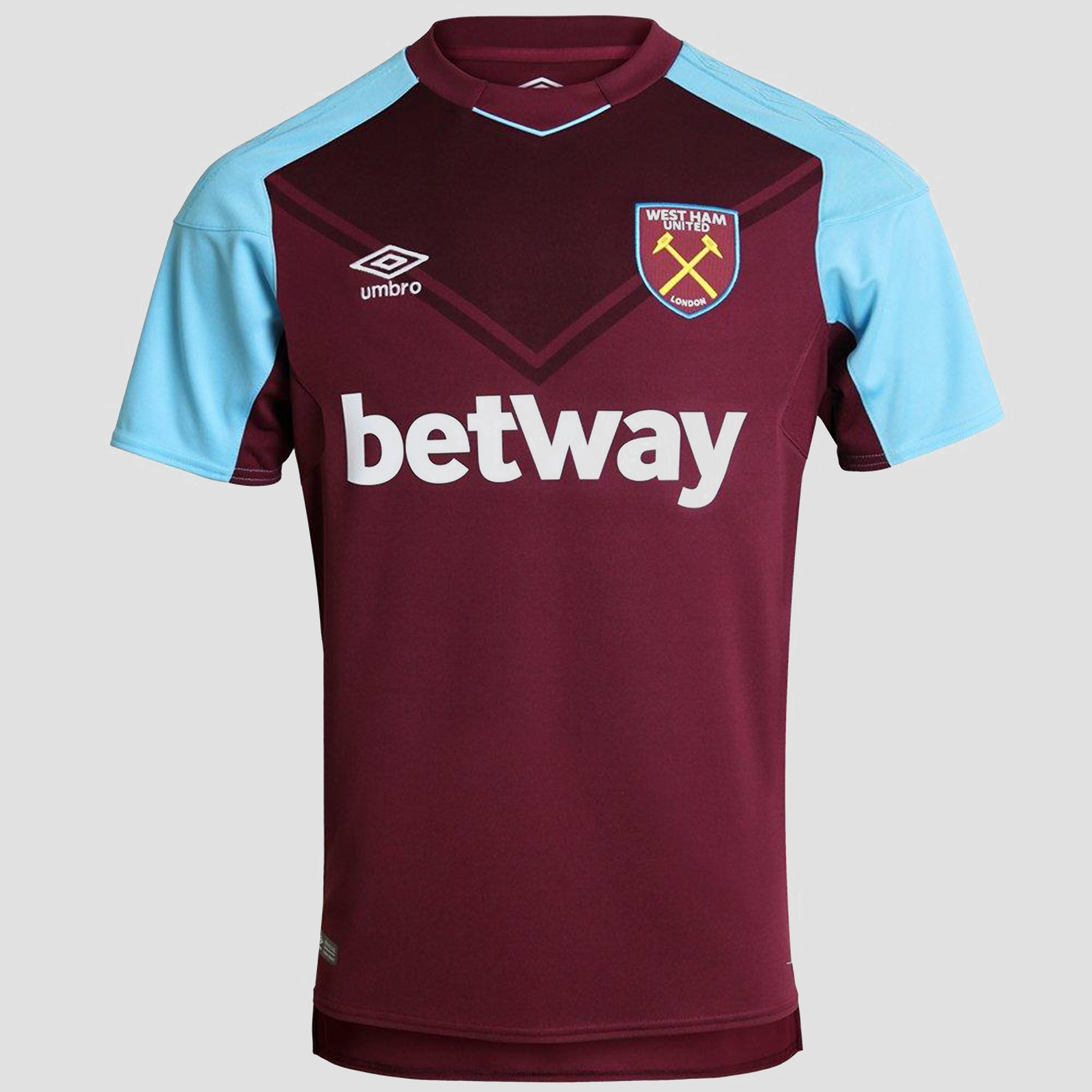 Umbro West Ham United Home 2017/18 Men's Shirt