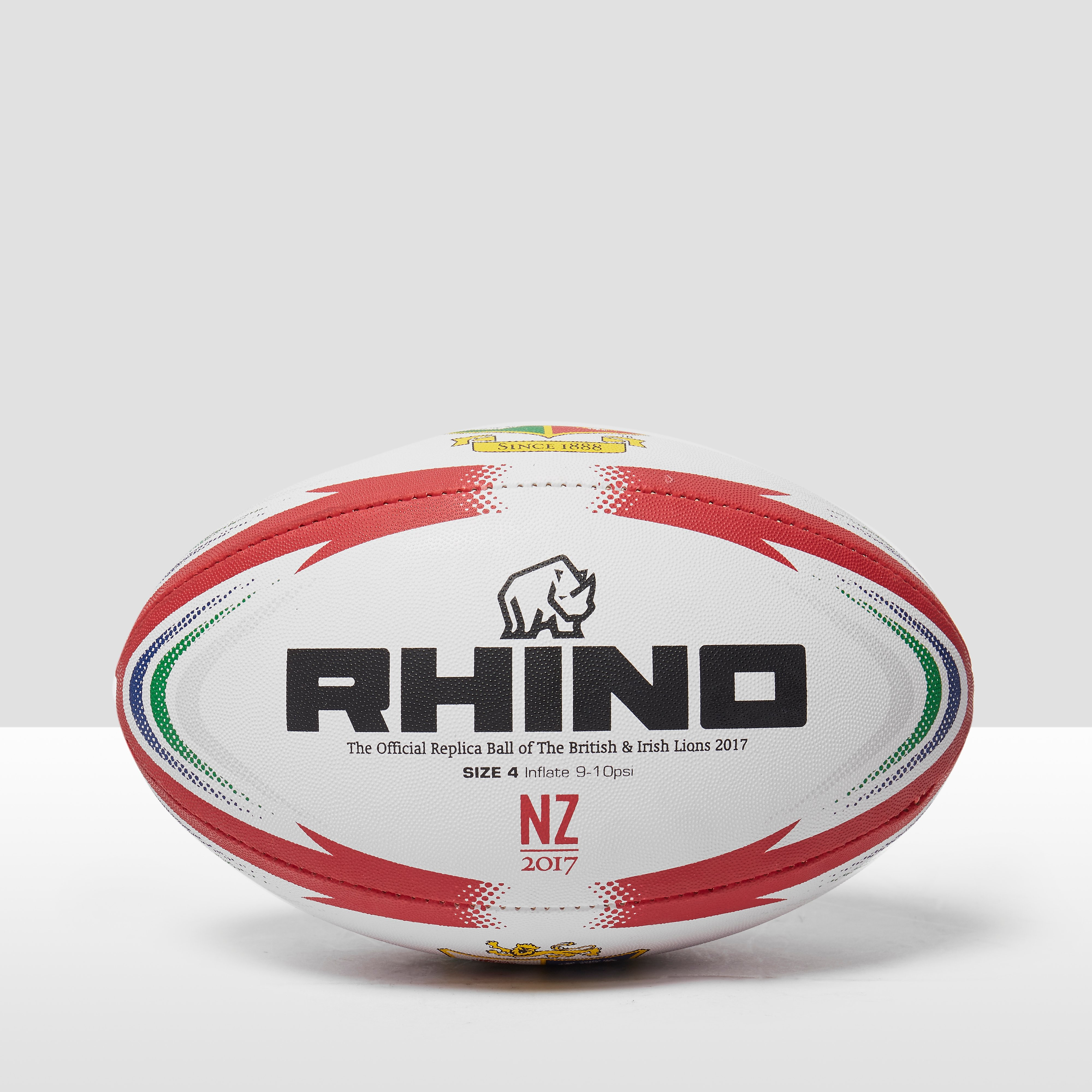 Rhino teamwear British & Irish Lions Official Replica Match Rugby Ball