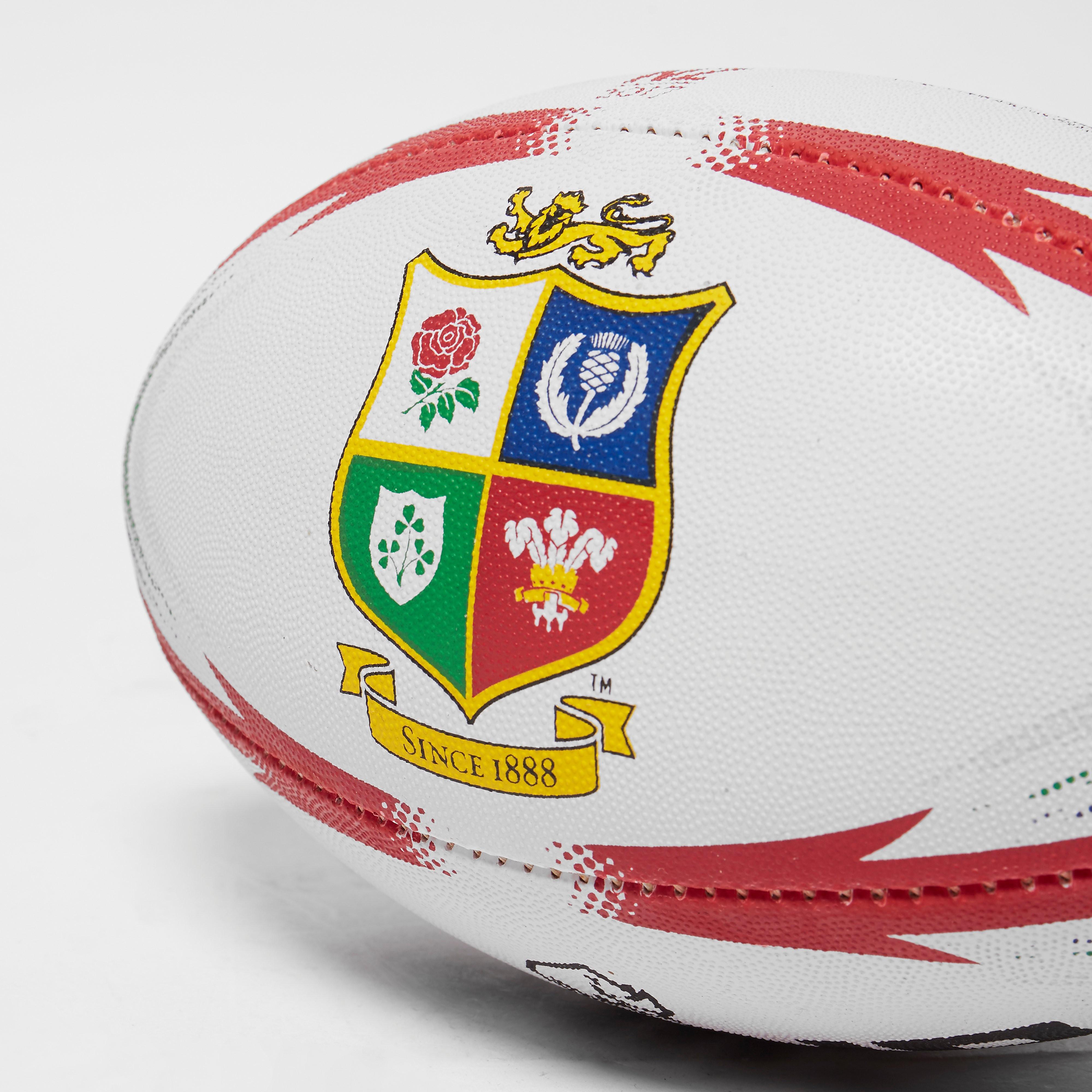 Rhino teamwear Lions Midi Replica Rugby Ball