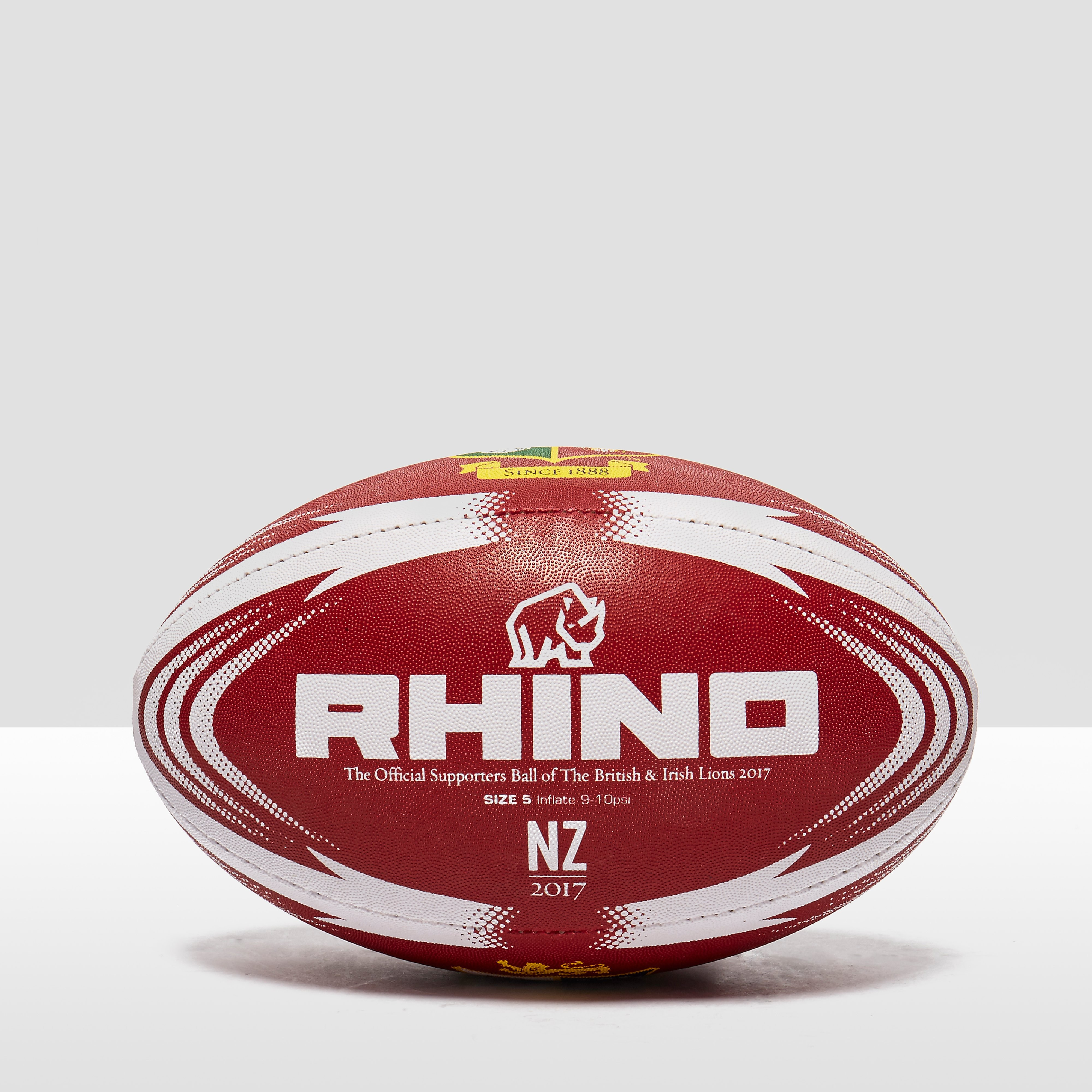 Rhino teamwear  British Lions Supporter Rugby Ball