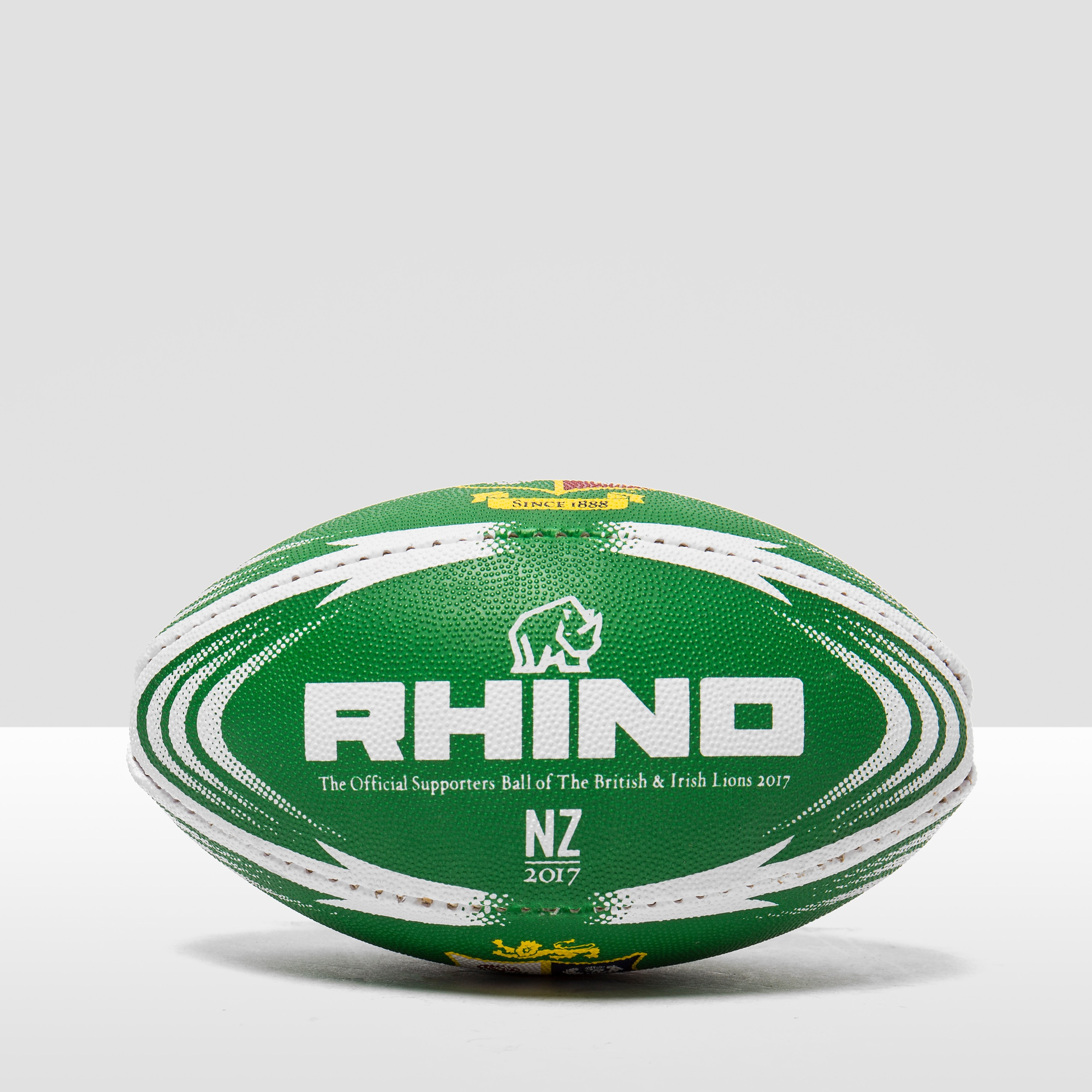 Rhino teamwear RHINO British Lions Supporter Mini Rugby Ball
