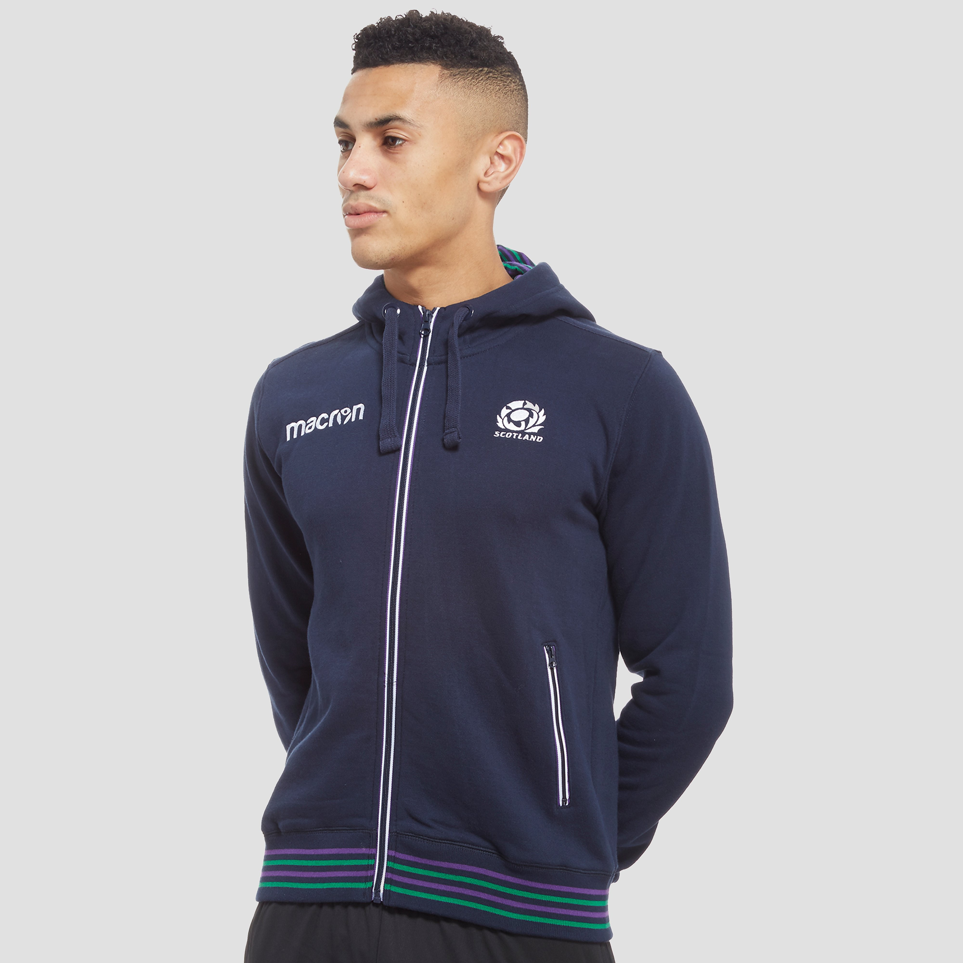 Macron Scotland Rugby Union Men's Hoodie