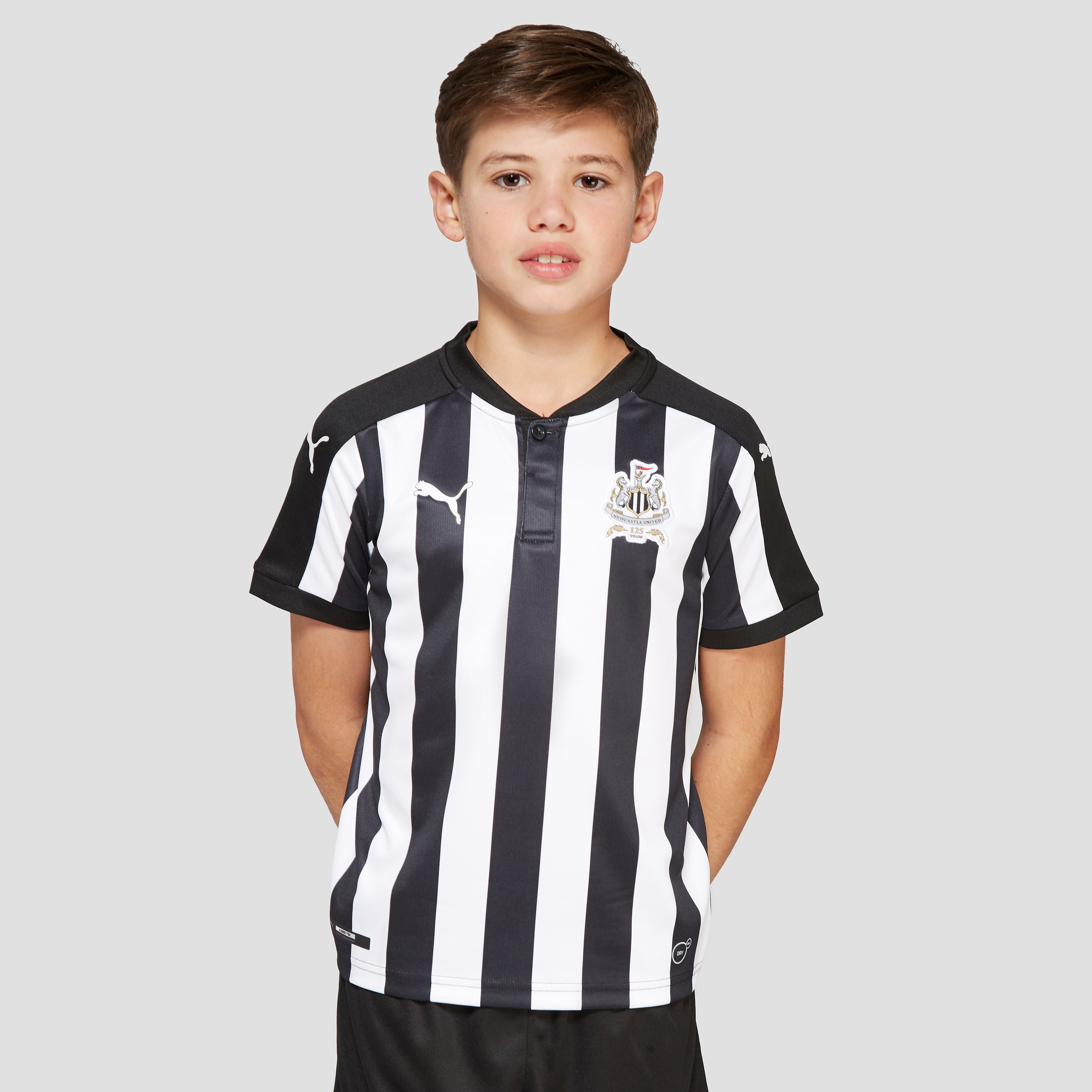 PUMA Newcastle United 2017/18 Home Shirt Junior