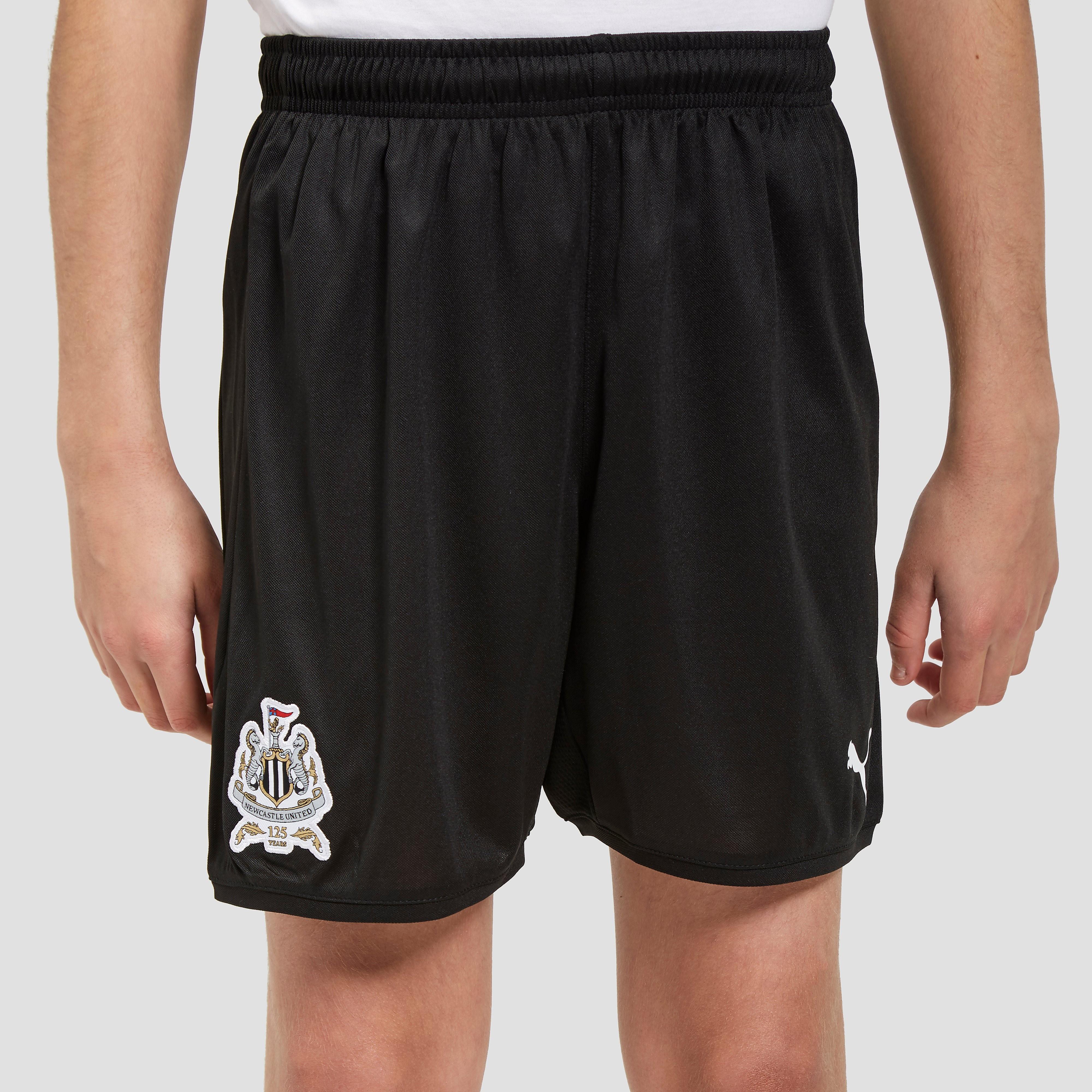 PUMA Newcastle United 2017/18 Home Shorts Junior