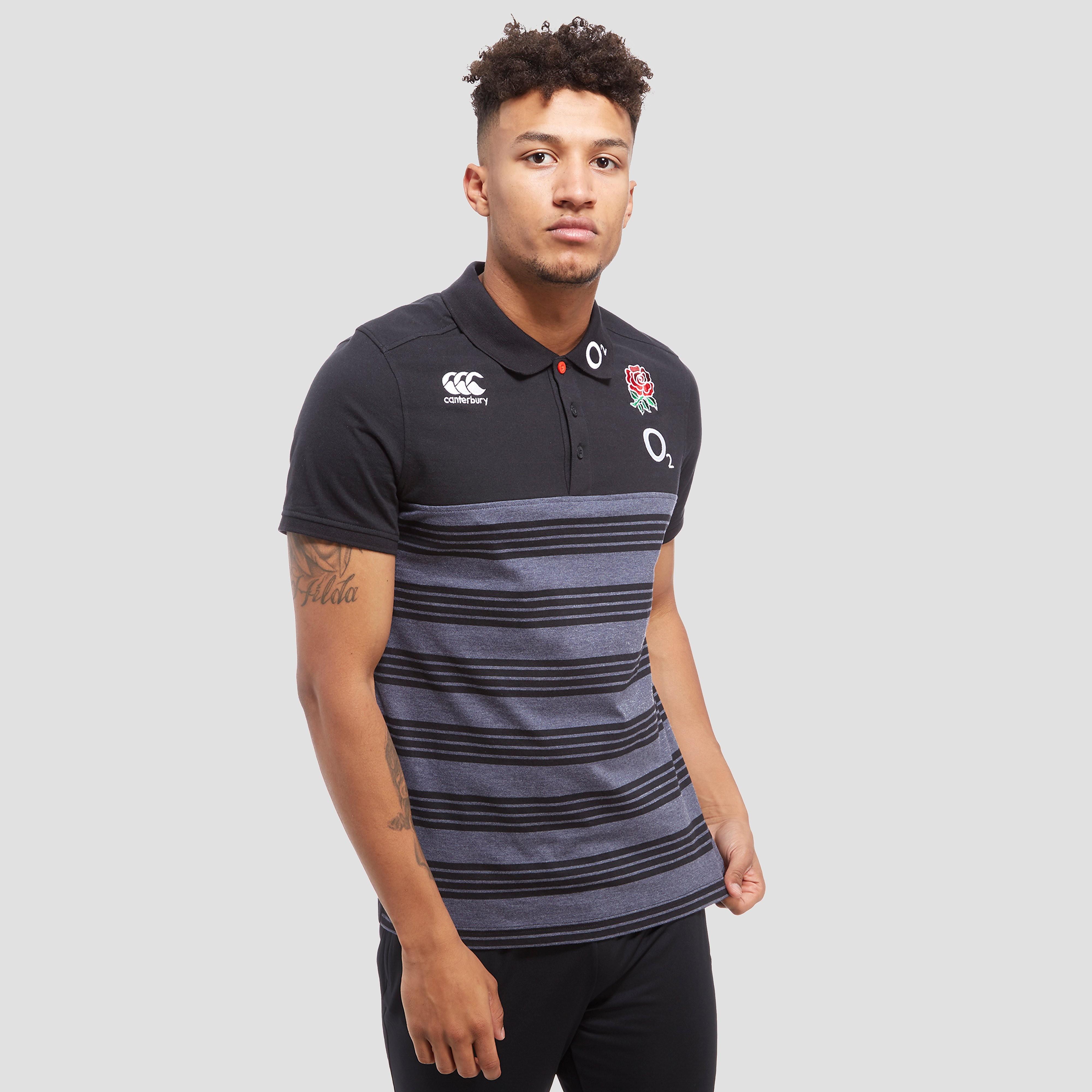 Canterbury England RFU Stripe Men's Polo Shirt