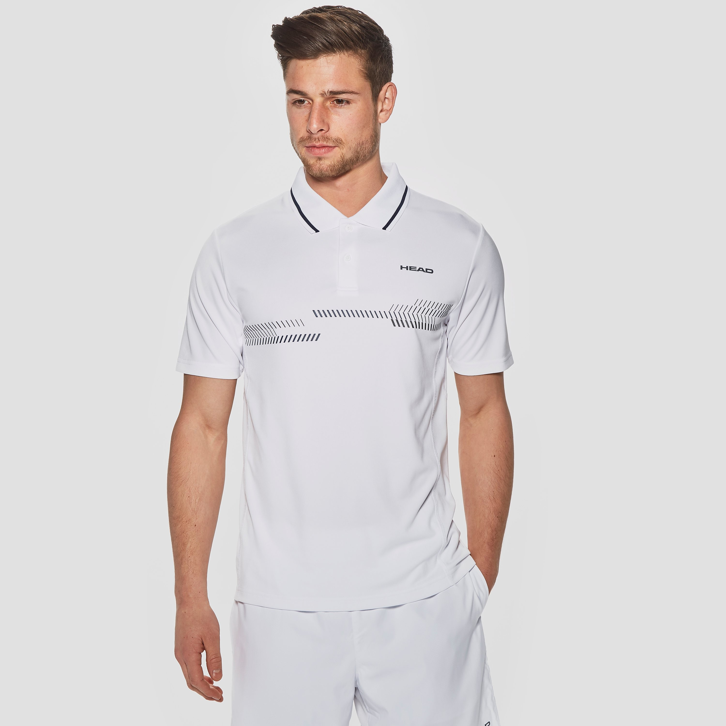 Head Club Technical Men's Tennis Polo Shirt