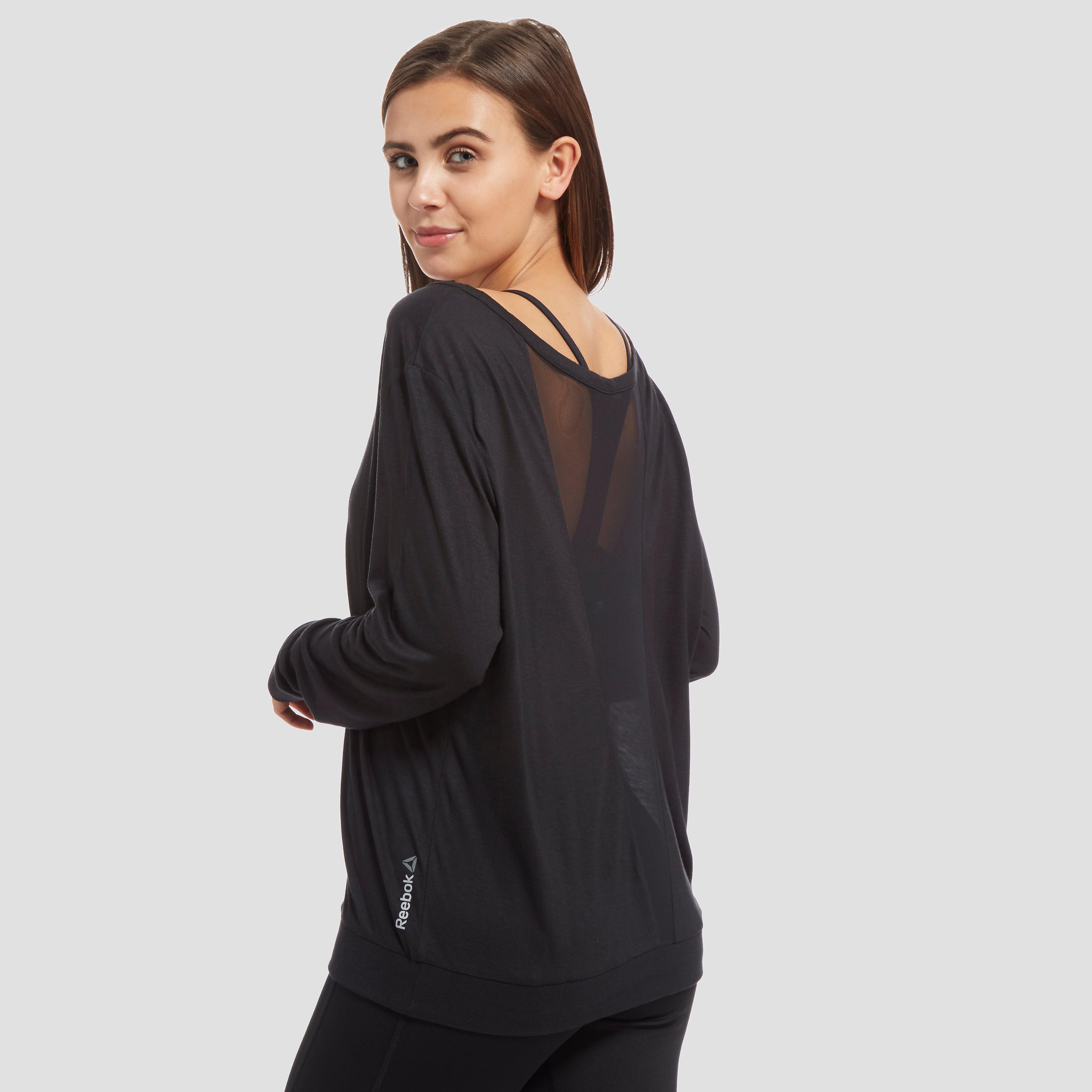Reebok Long Sleeve Women's Mesh T-Shirt