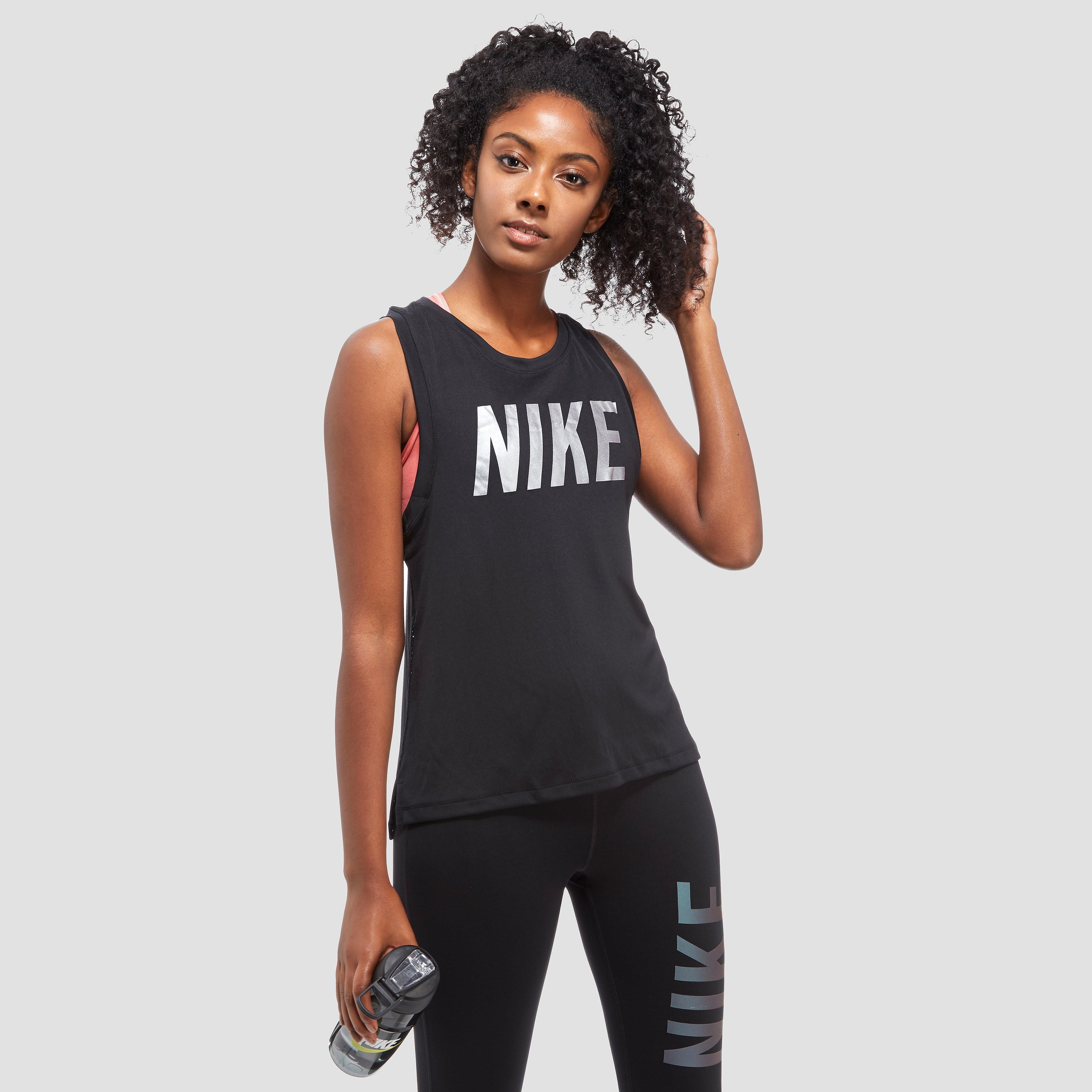 Nike Metallic Dry Miler Women's Running Tank