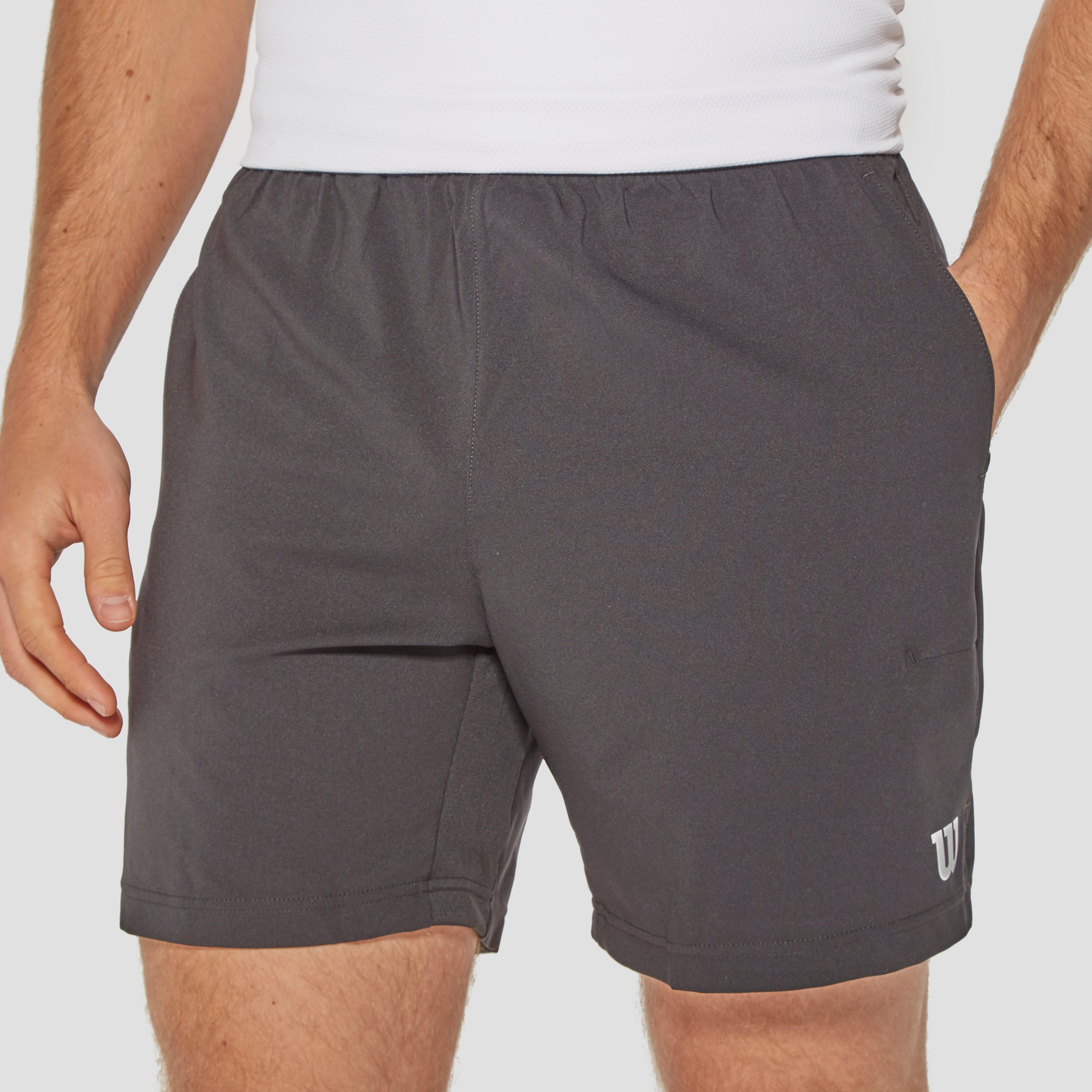 "Men's Wilson Rush 7"" Woven Shorts - Black, Black"