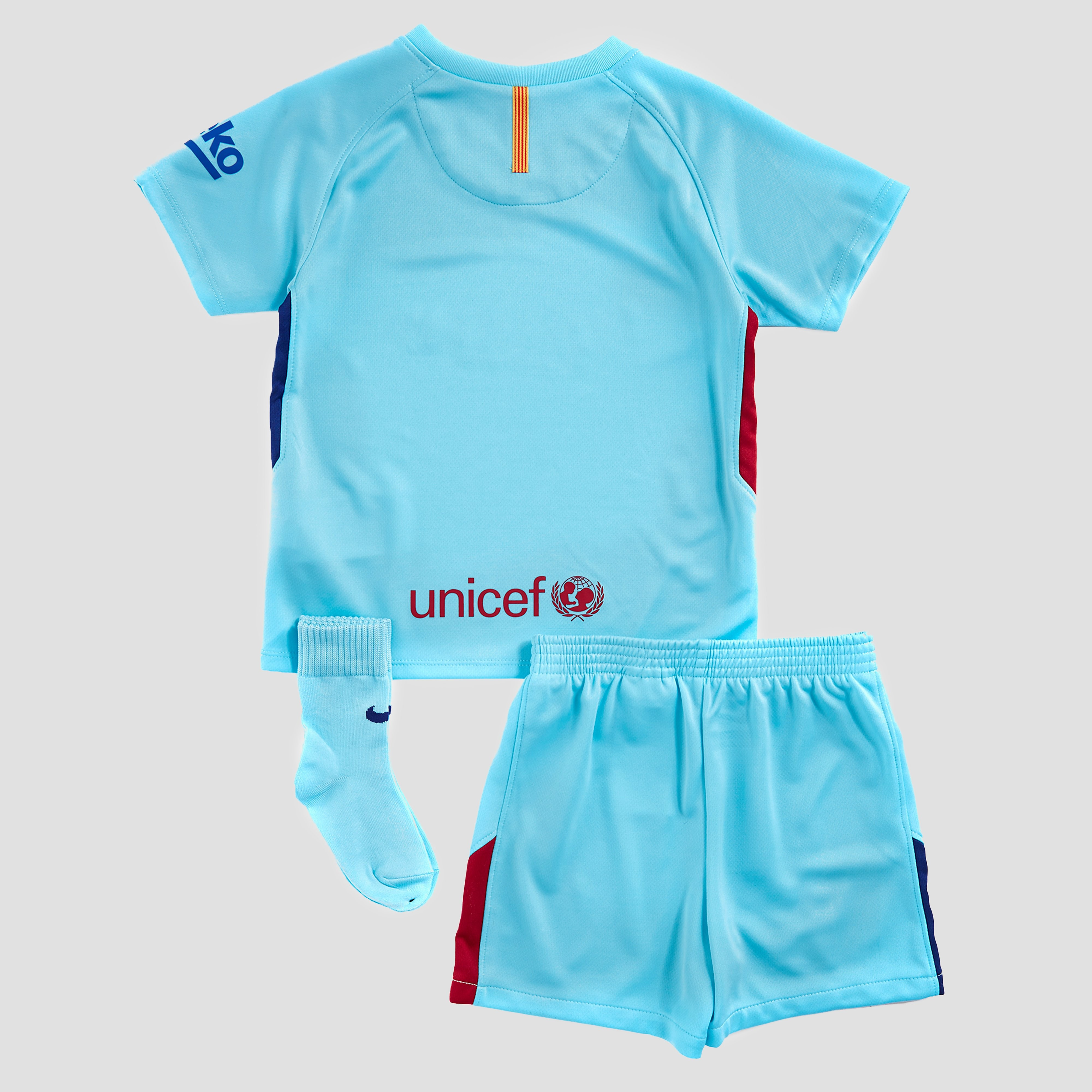 Nike Barcelona 2017/18 Away Kit Infant