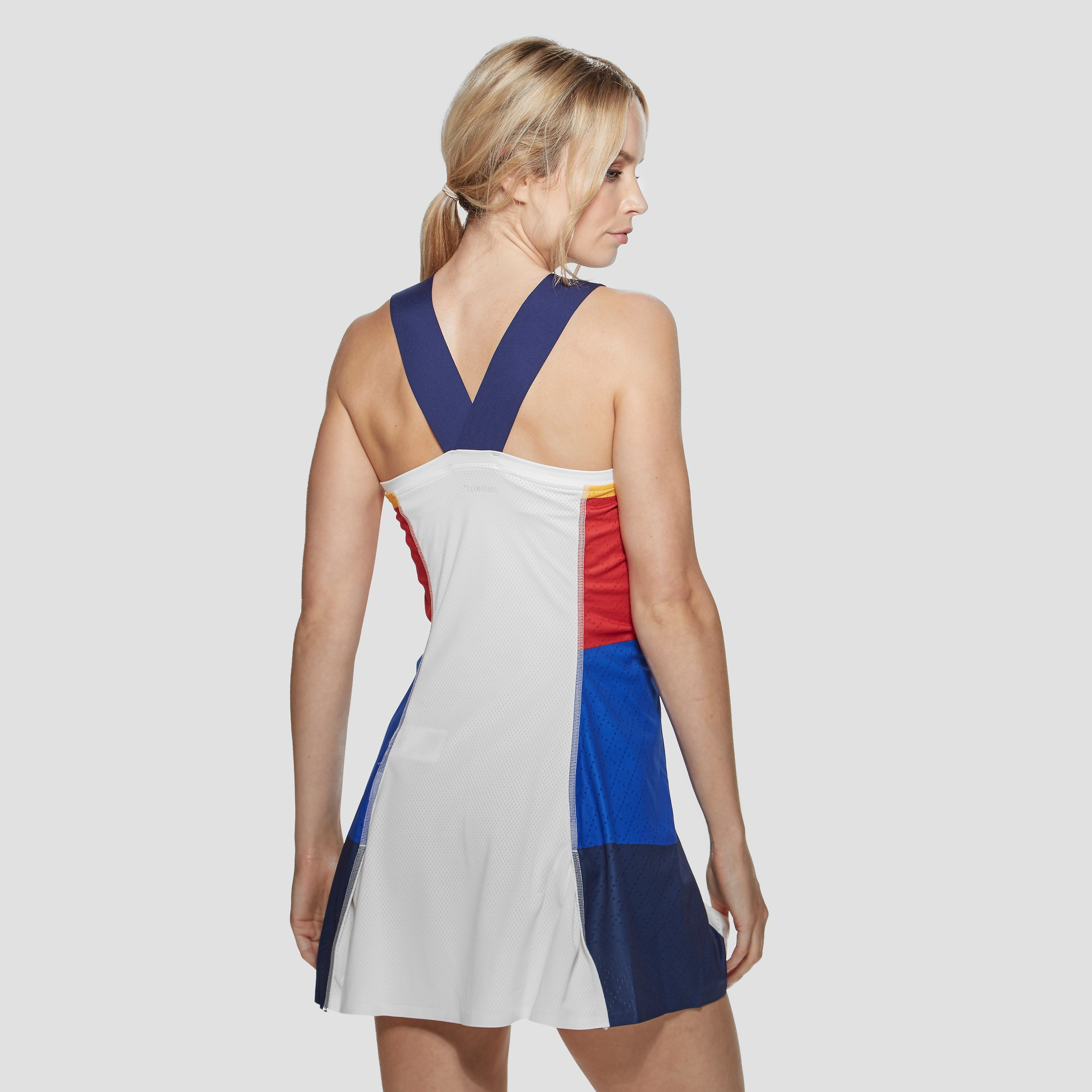 adidas Pharrell Williams New York V-neck tennis dress