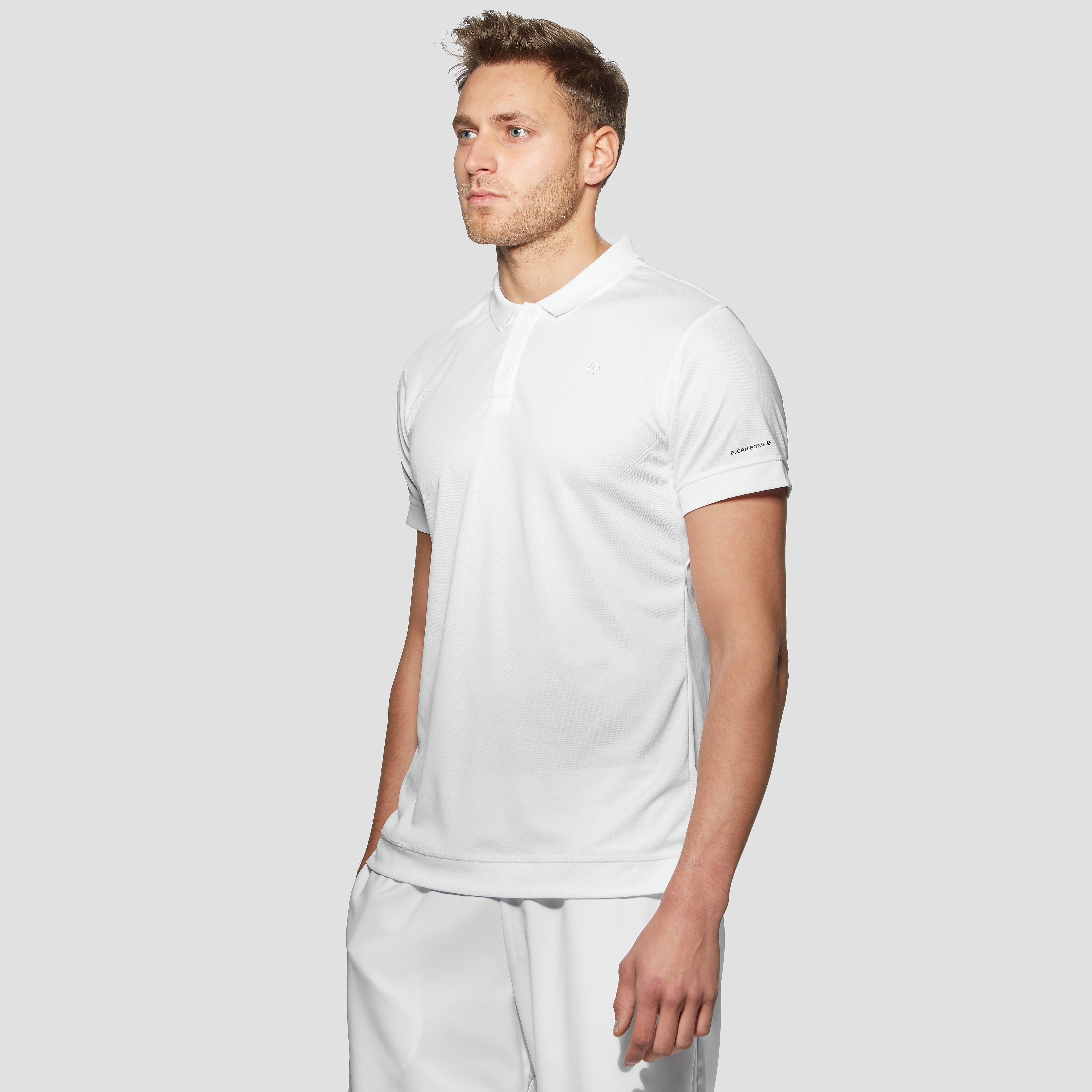 Bjorn Borg Tim Men's White Polo Shirt