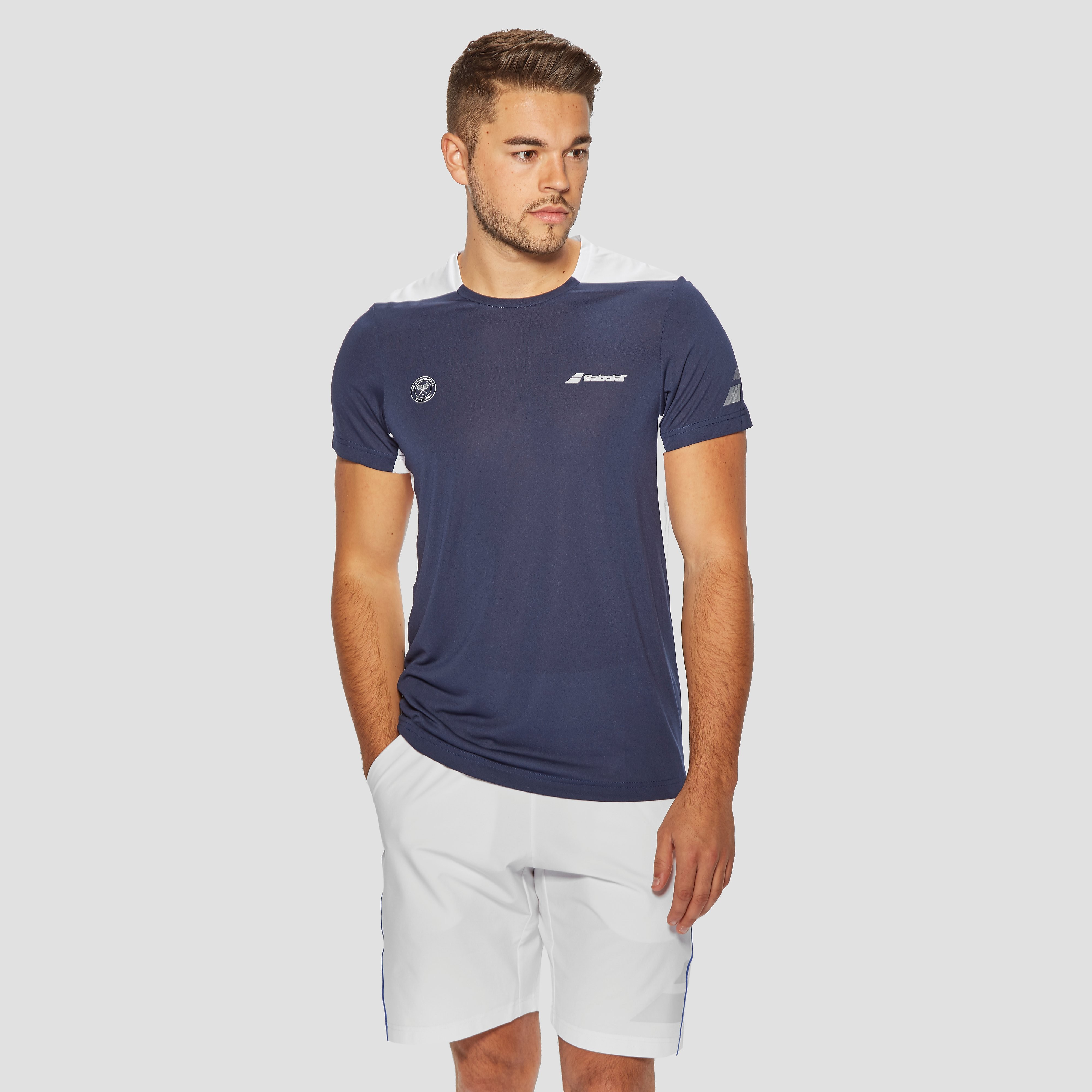 Babolat Wimbledon Performance Men's Crew Neck T-Shirt