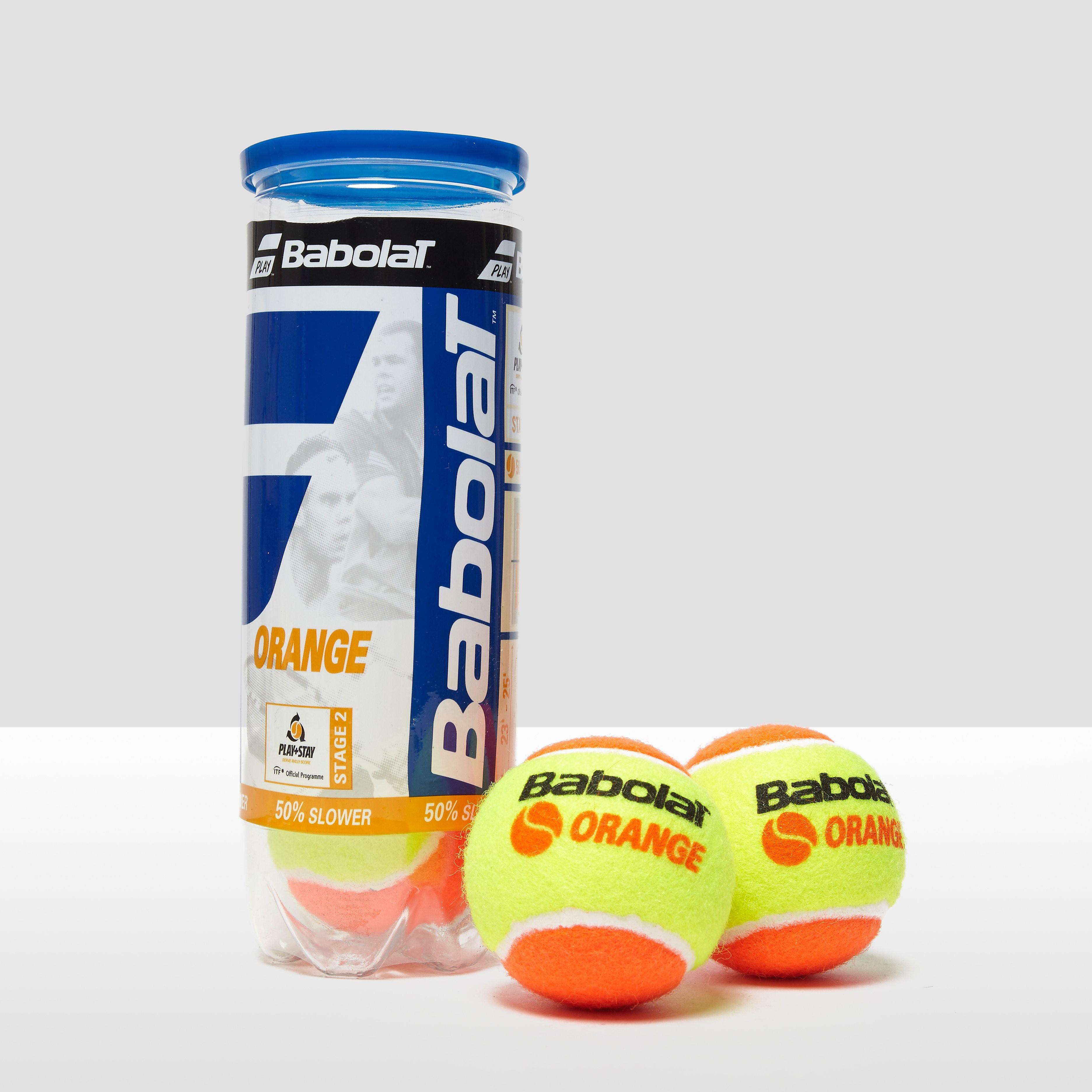 Babolat Orange x3 Tennis Balls