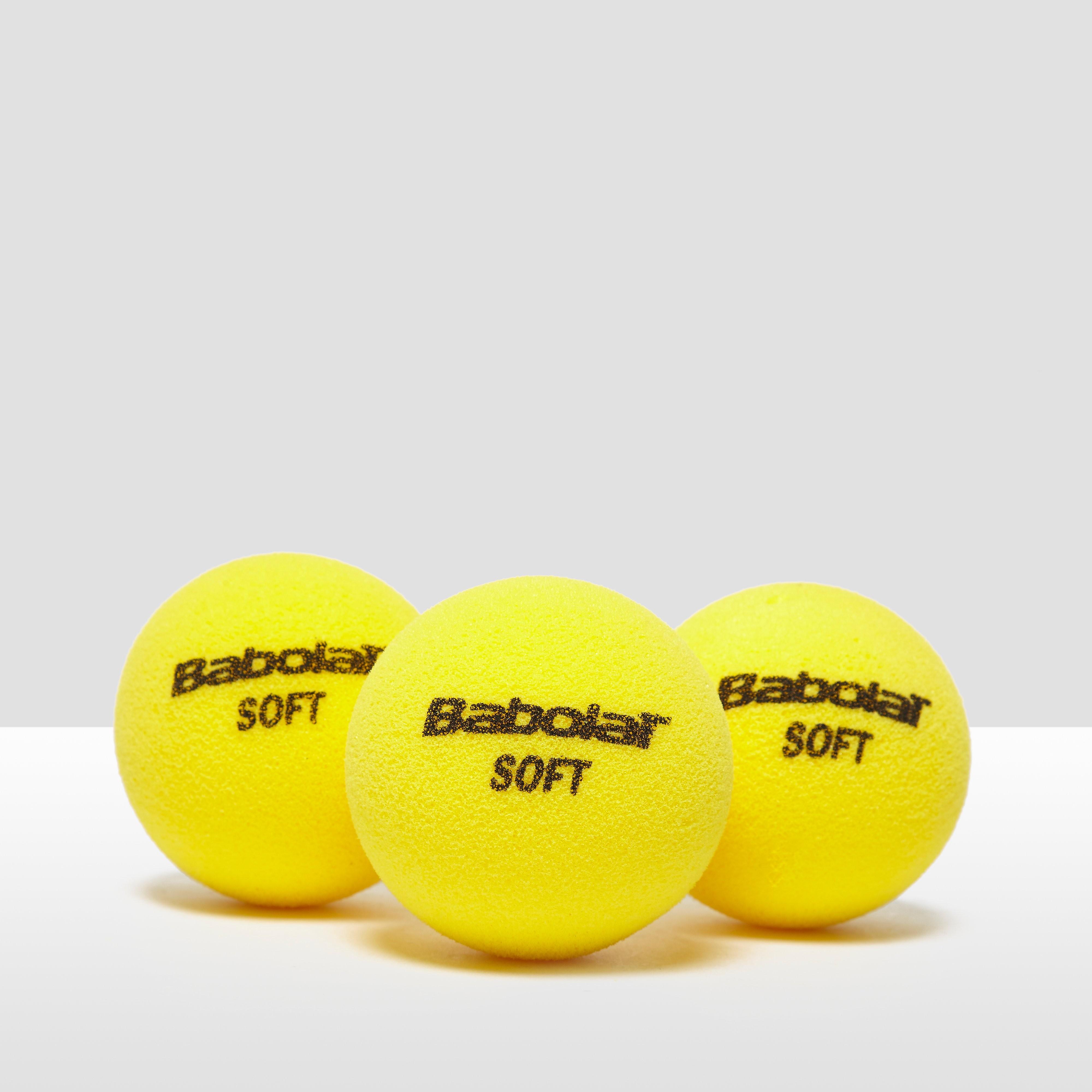 Babolat Soft Foam x3 Tennis Balls