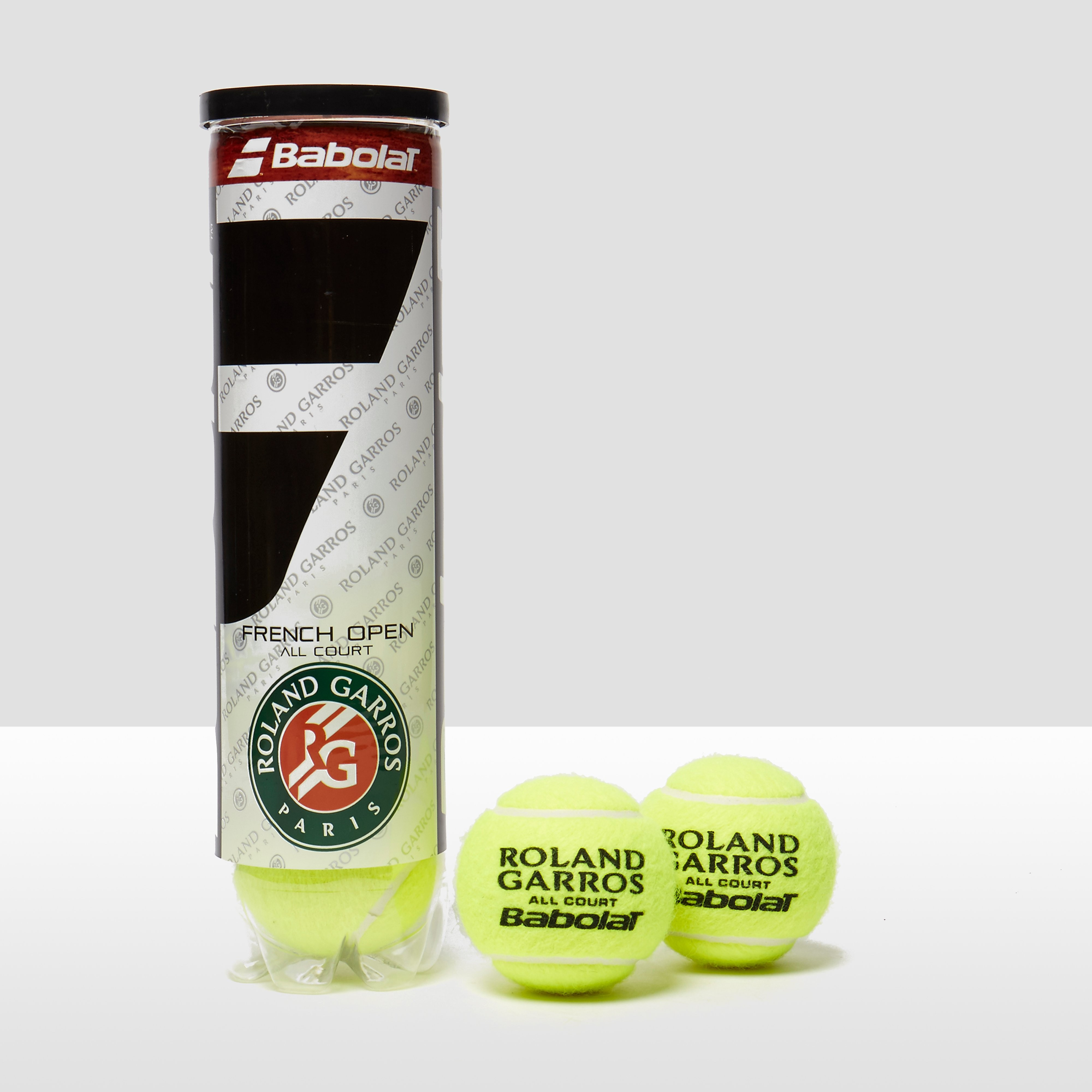 Babolat French Open Can of 4 Tennis Balls