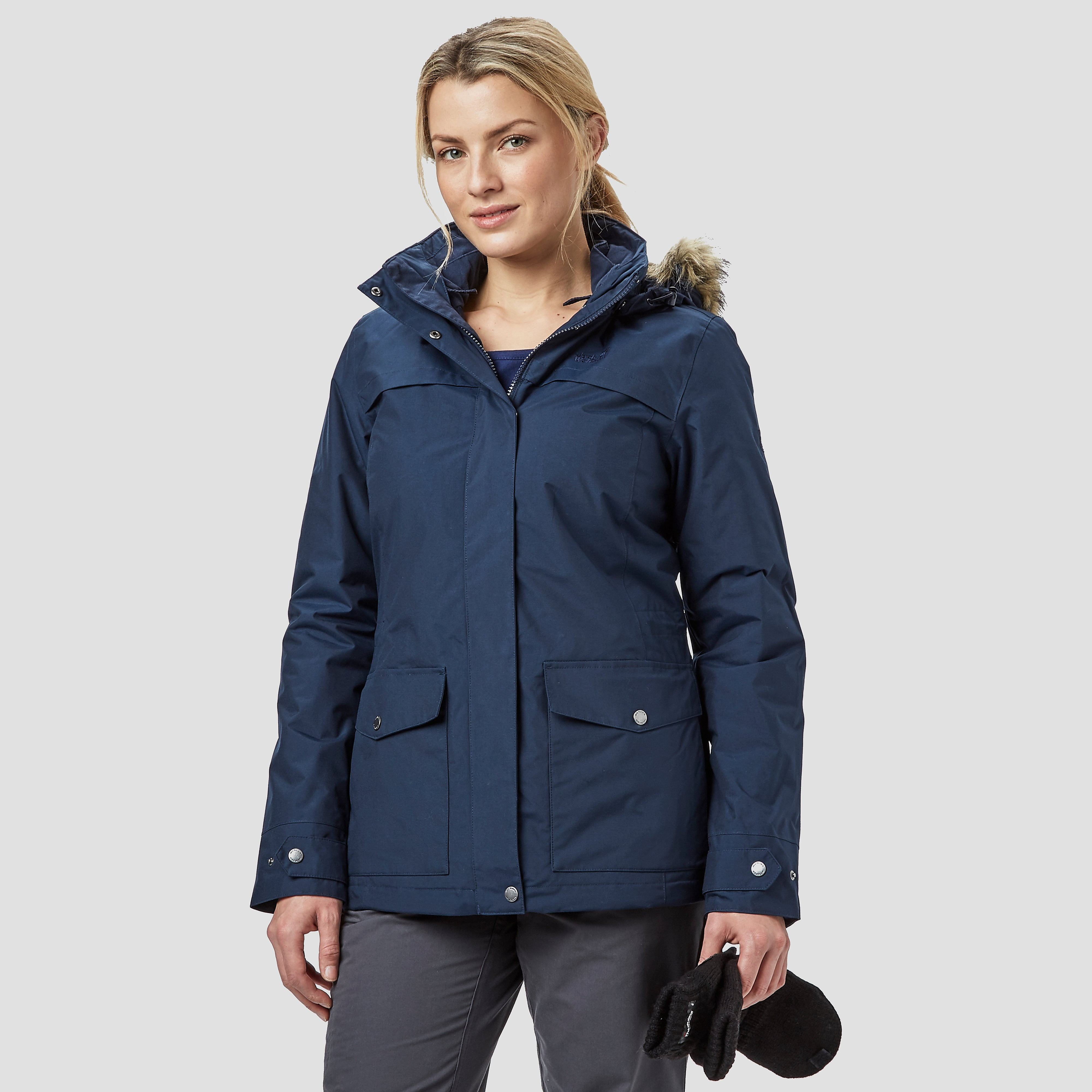 Jack Wolfskin Rocky Shore 3-in-1 Women's Parka