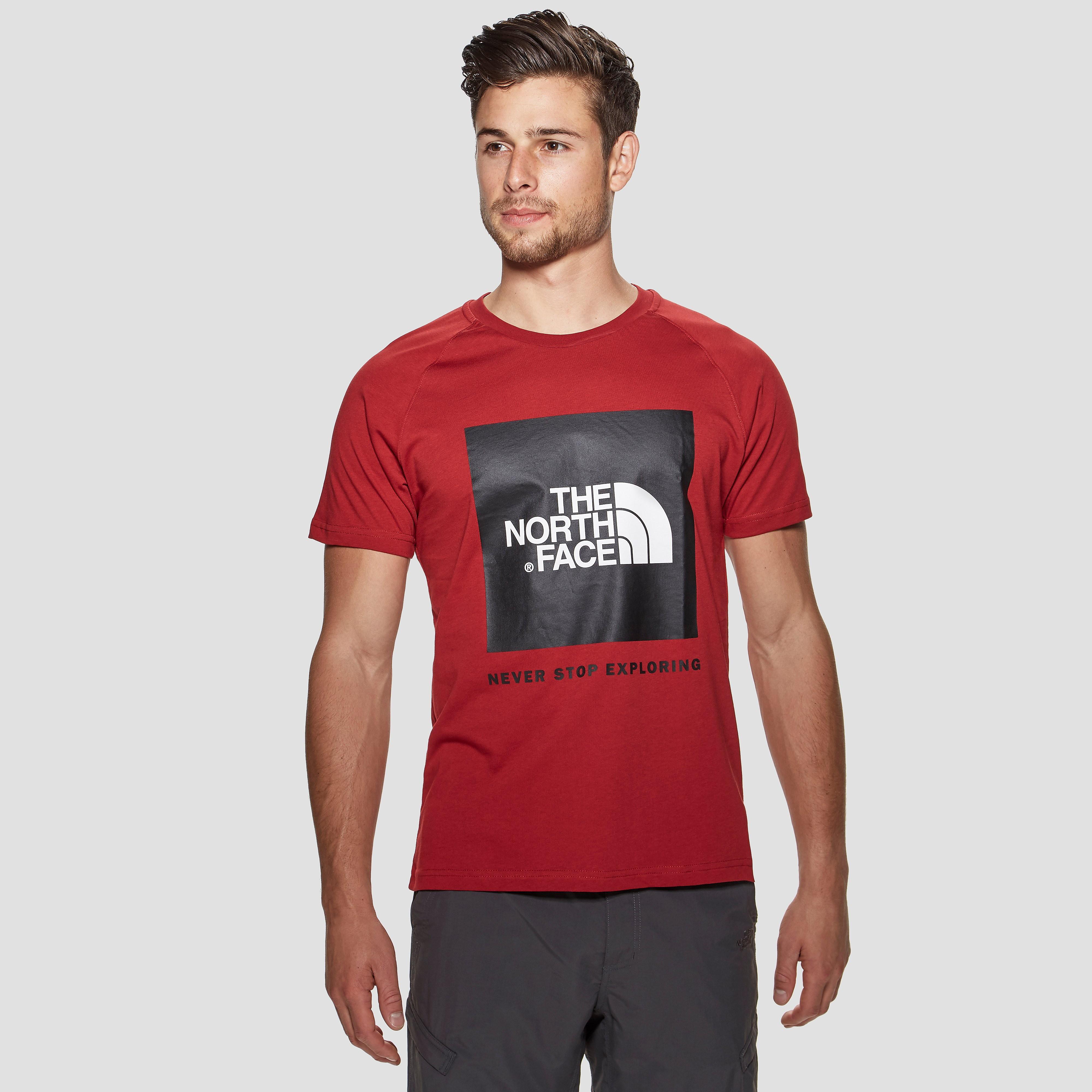 The North Face Raglan Red Box Men's T-shirt