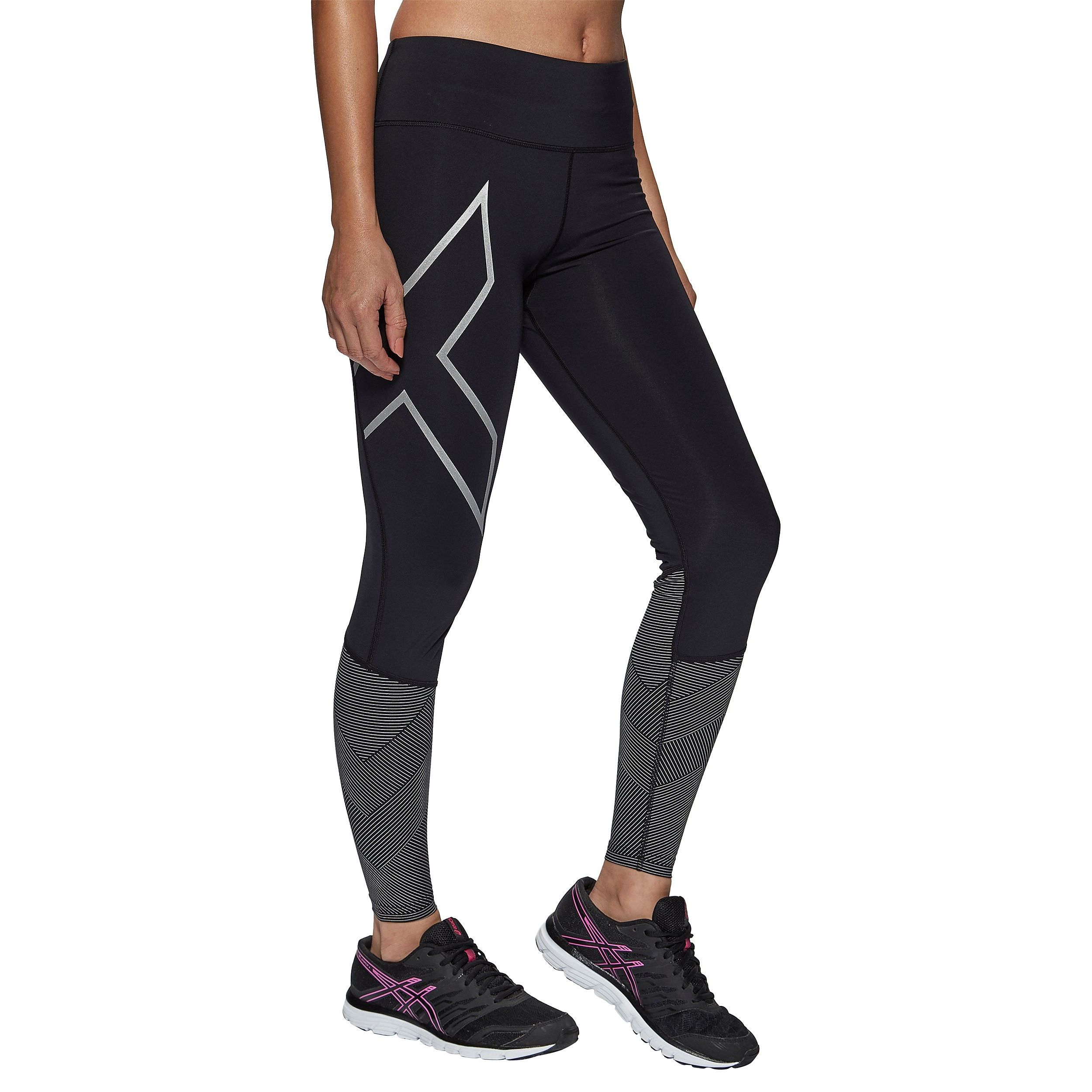 2XU MID-RISE REFLECT Women's COMPRESSION TIGHTS