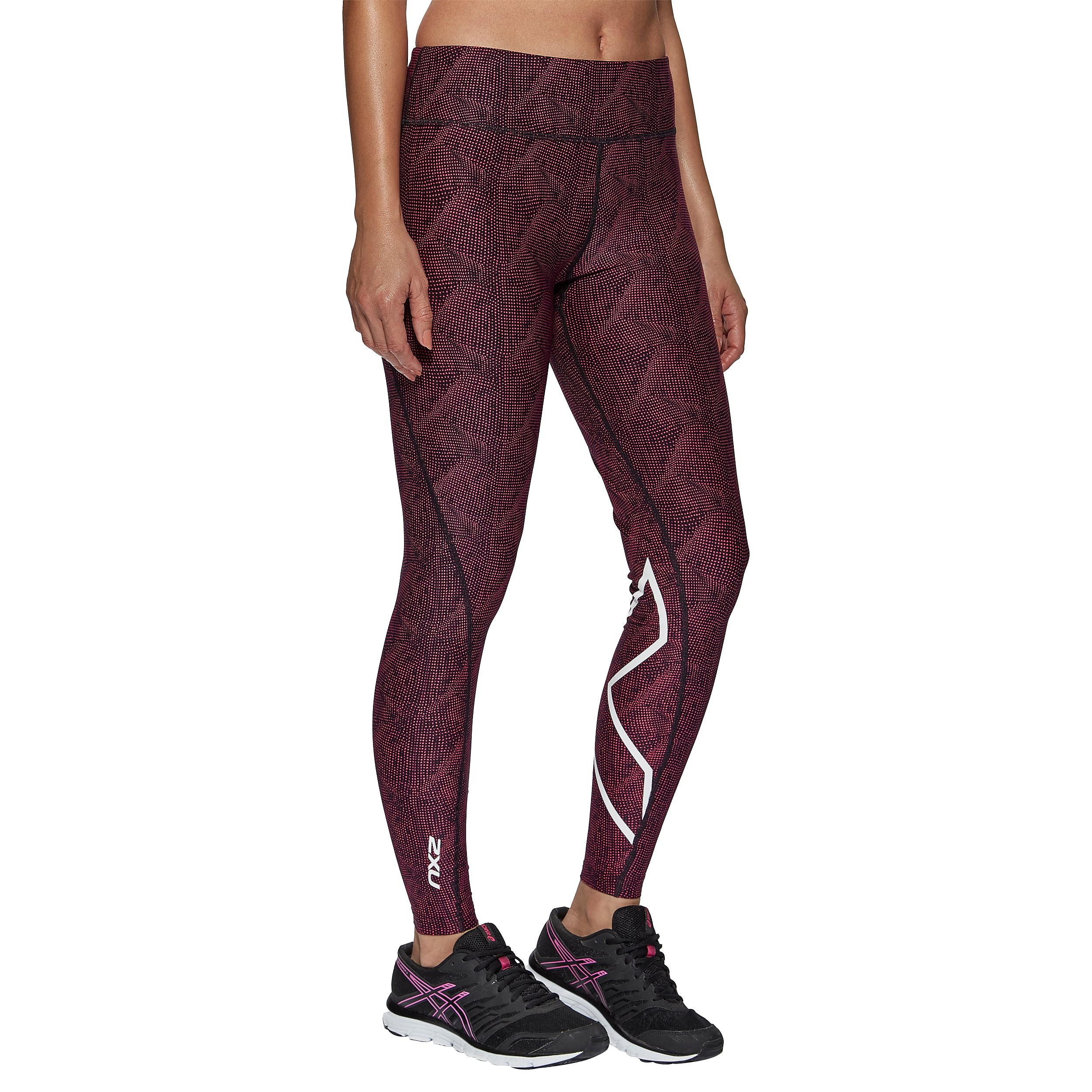 2XU Mid-Rise Print Women's Compression Tights