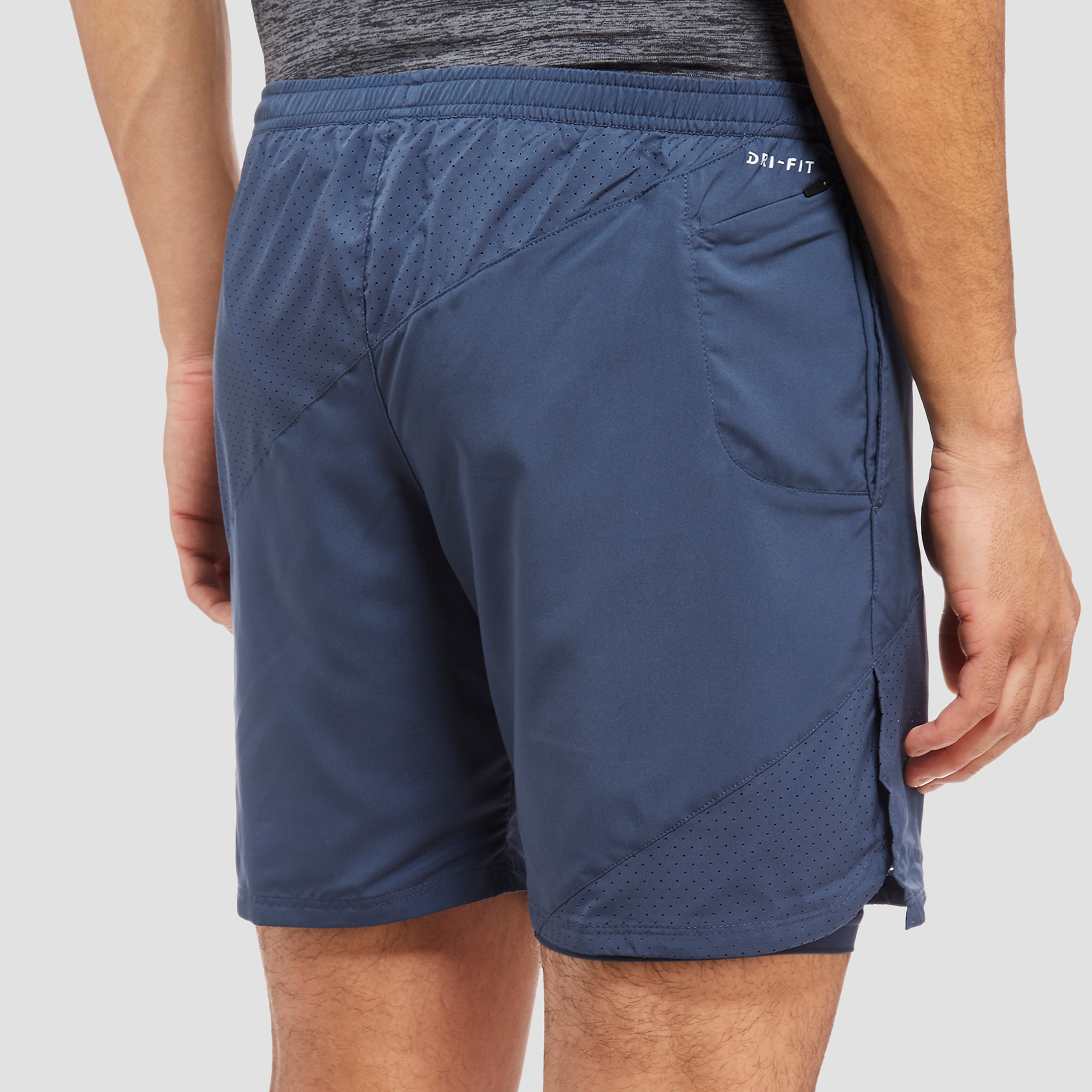 "Nike 7"" Distance 2-In-1 Men's Shorts"