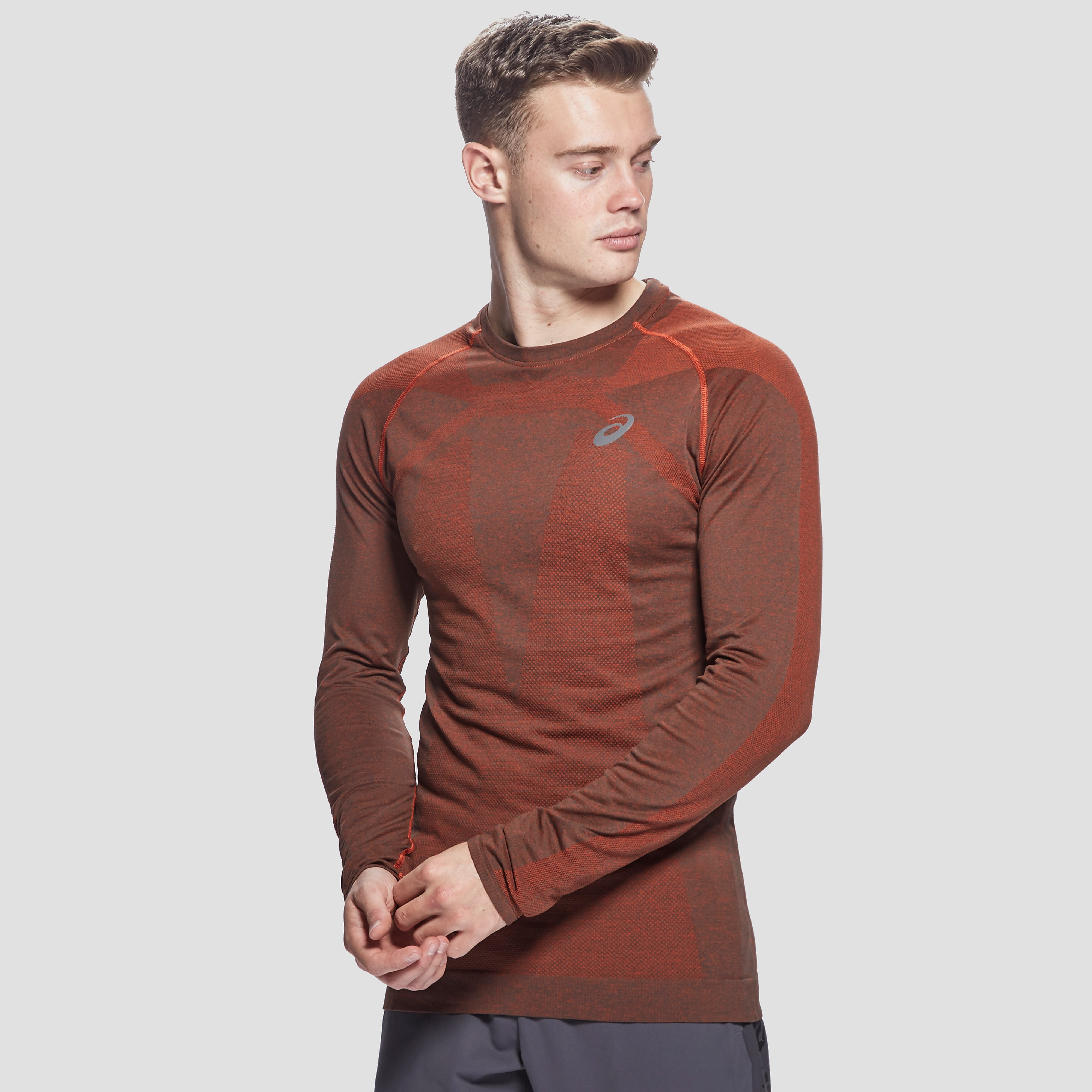 ASICS Men's Long Sleeved Seamless Top