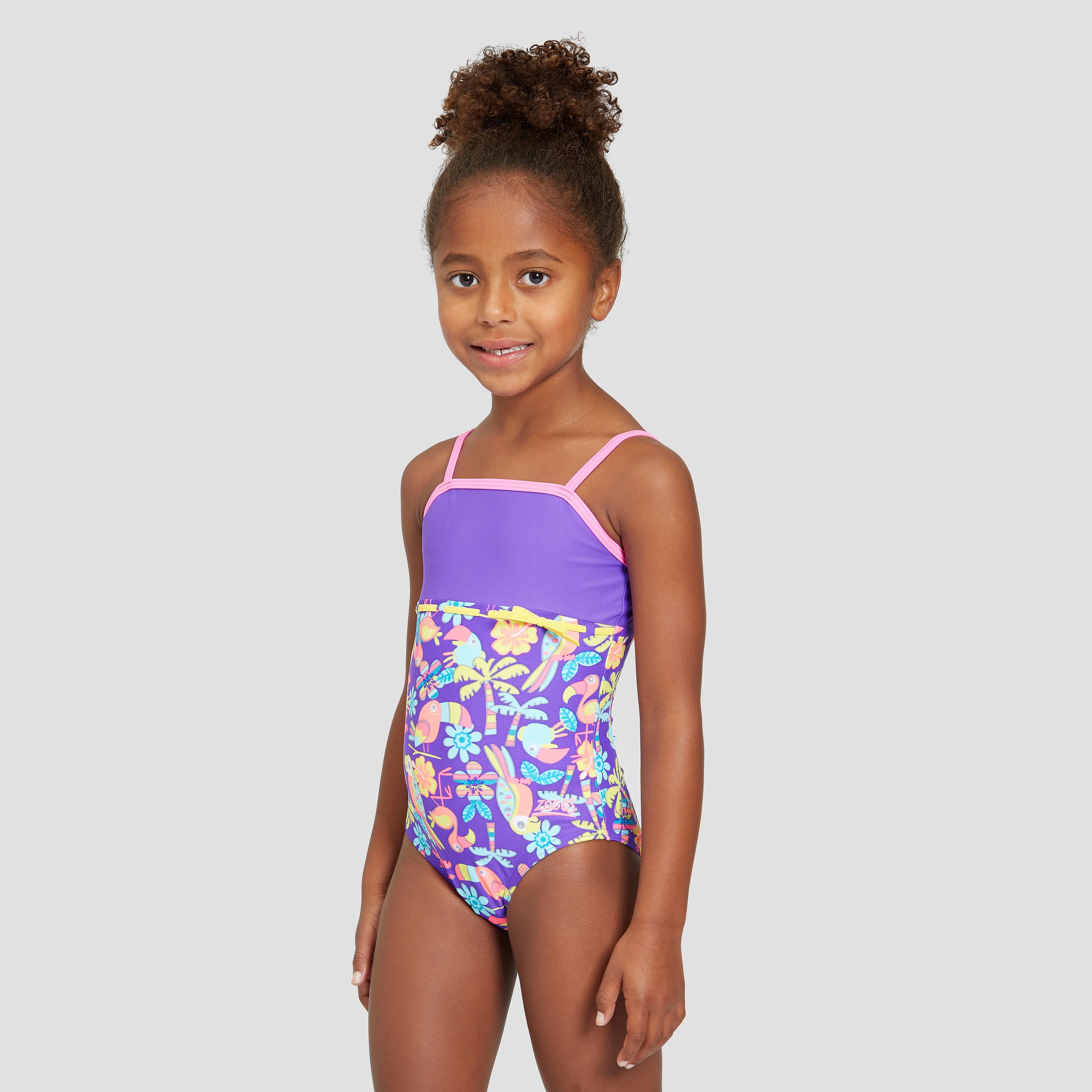 Zoggs Jungle Fun Classicback Junior Swimsuit