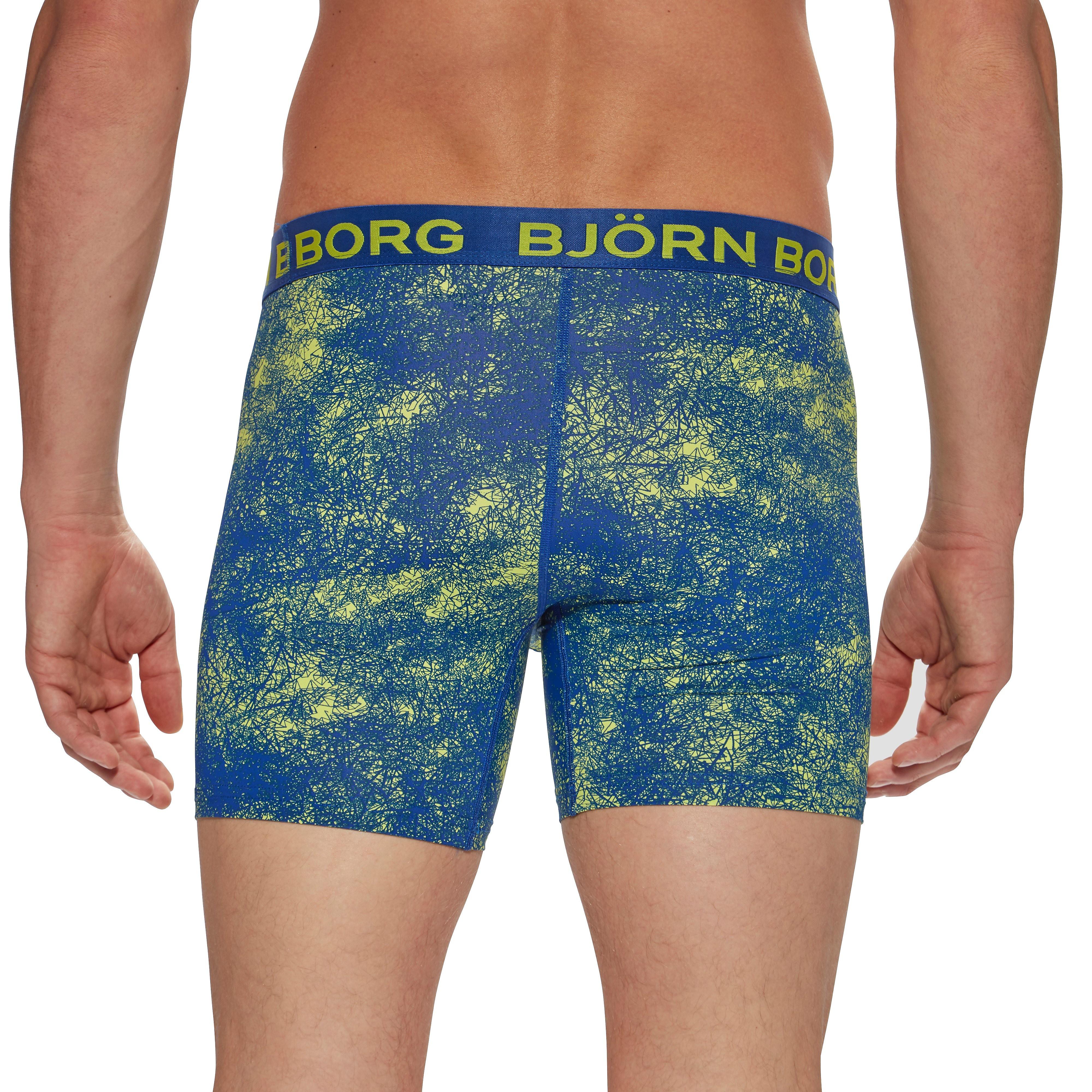 Bjorn Borg Scribble Blue Men's Boxer Shorts