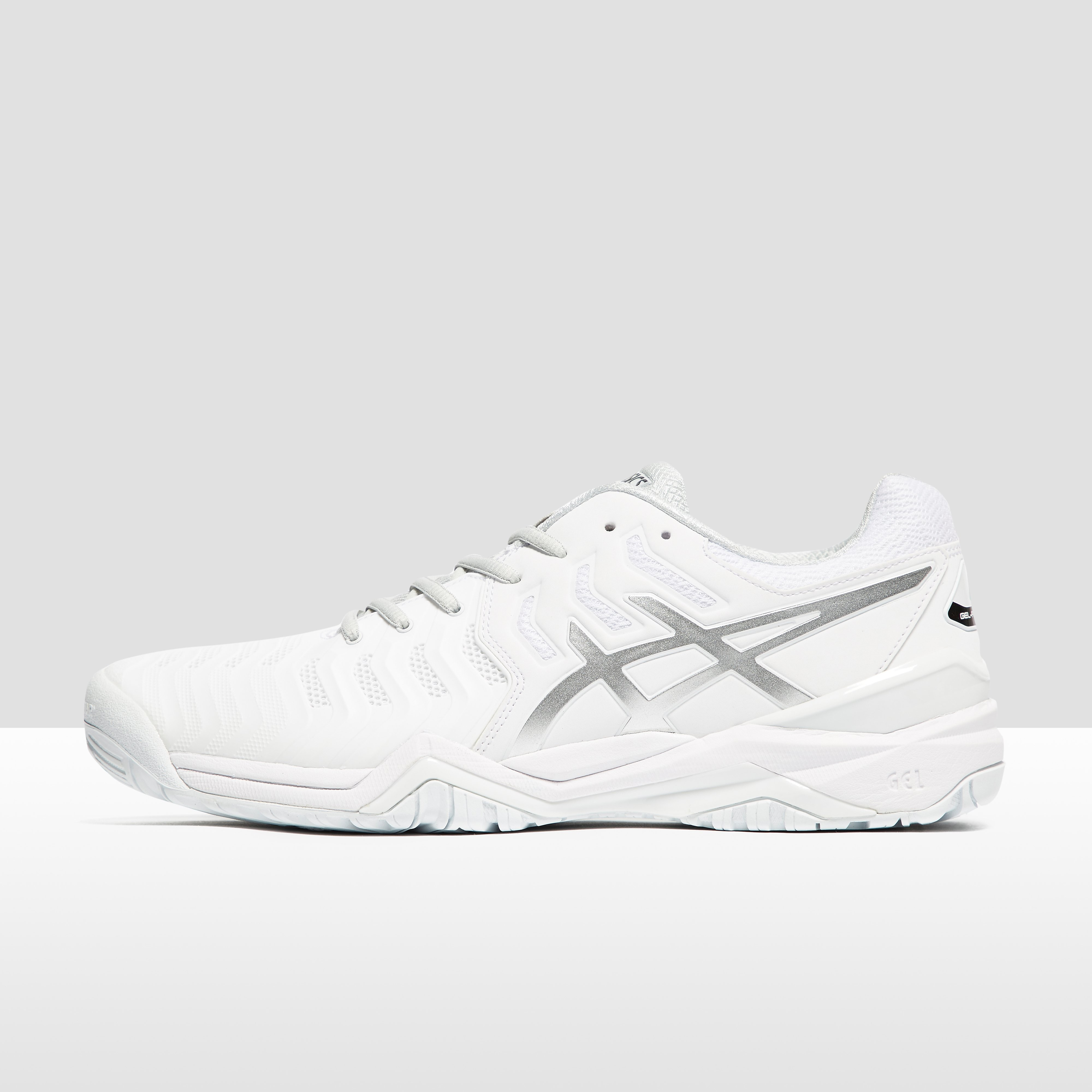Men's ASICS Gel-Resolution 7 Tennis Shoes - WH, WH