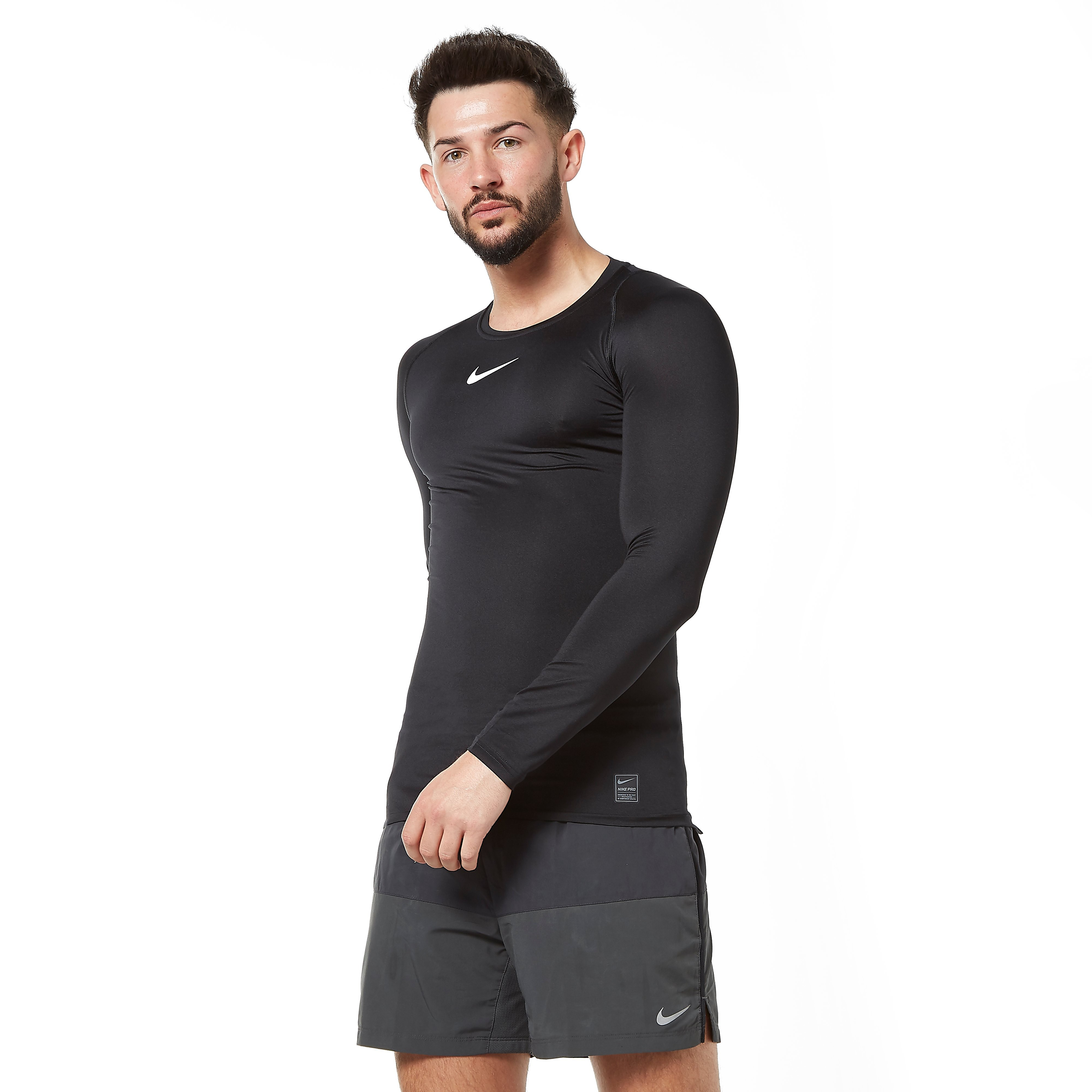 Nike Pro Long Sleeve Men's Compression T-Shirt