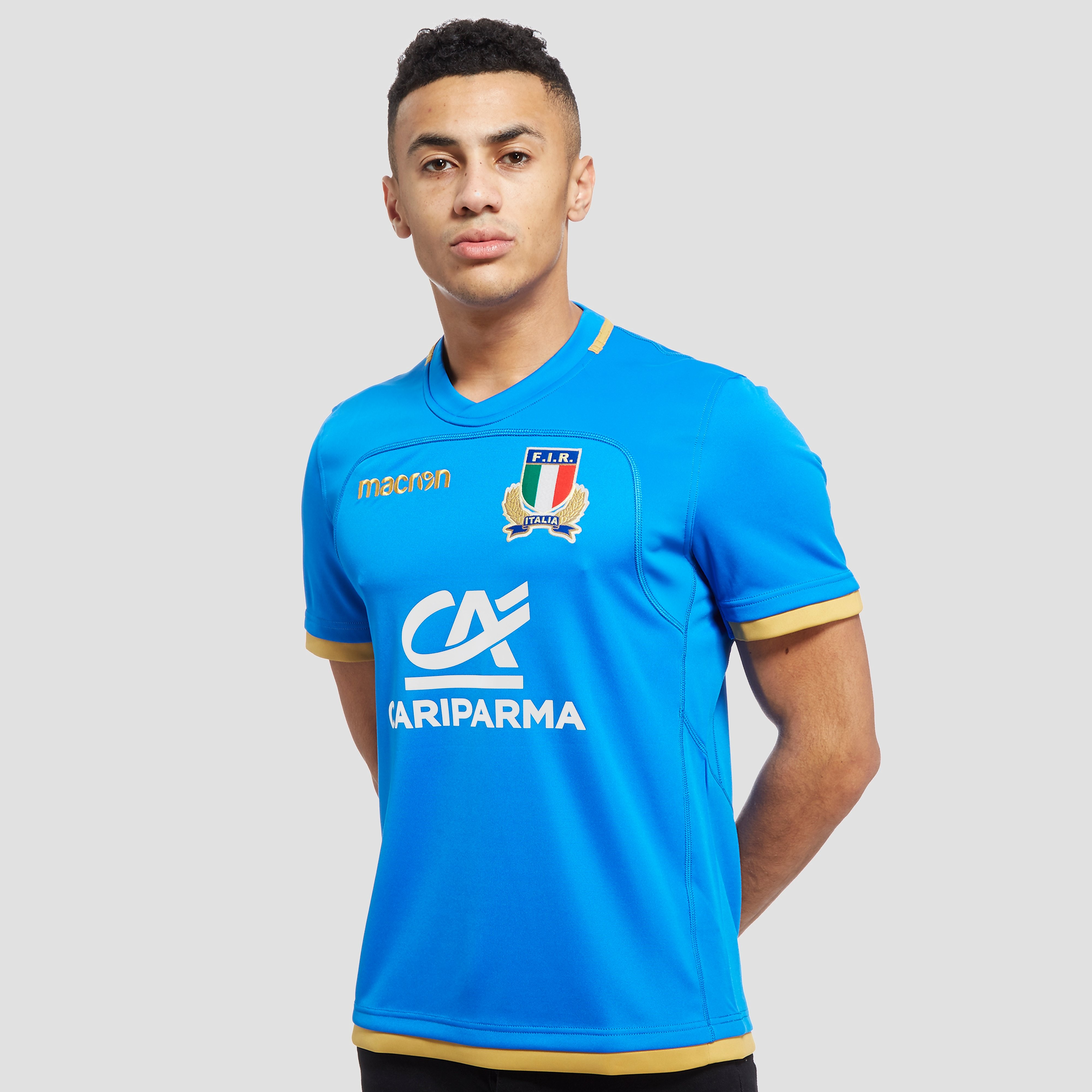 Macron Italy Rugby 2017/18 Home Shirt