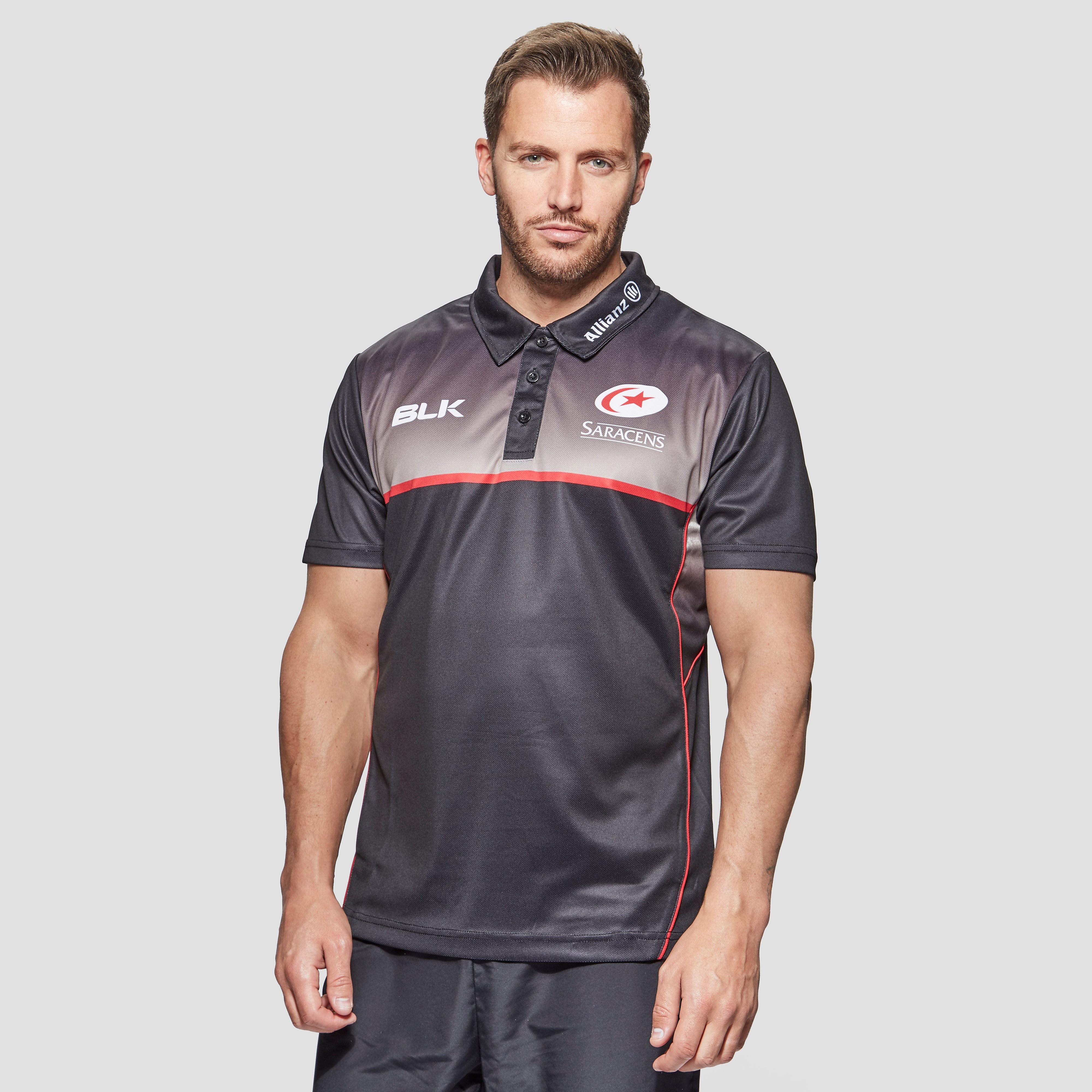 Blk sport Saracens Players Men's Training Polo Shirt
