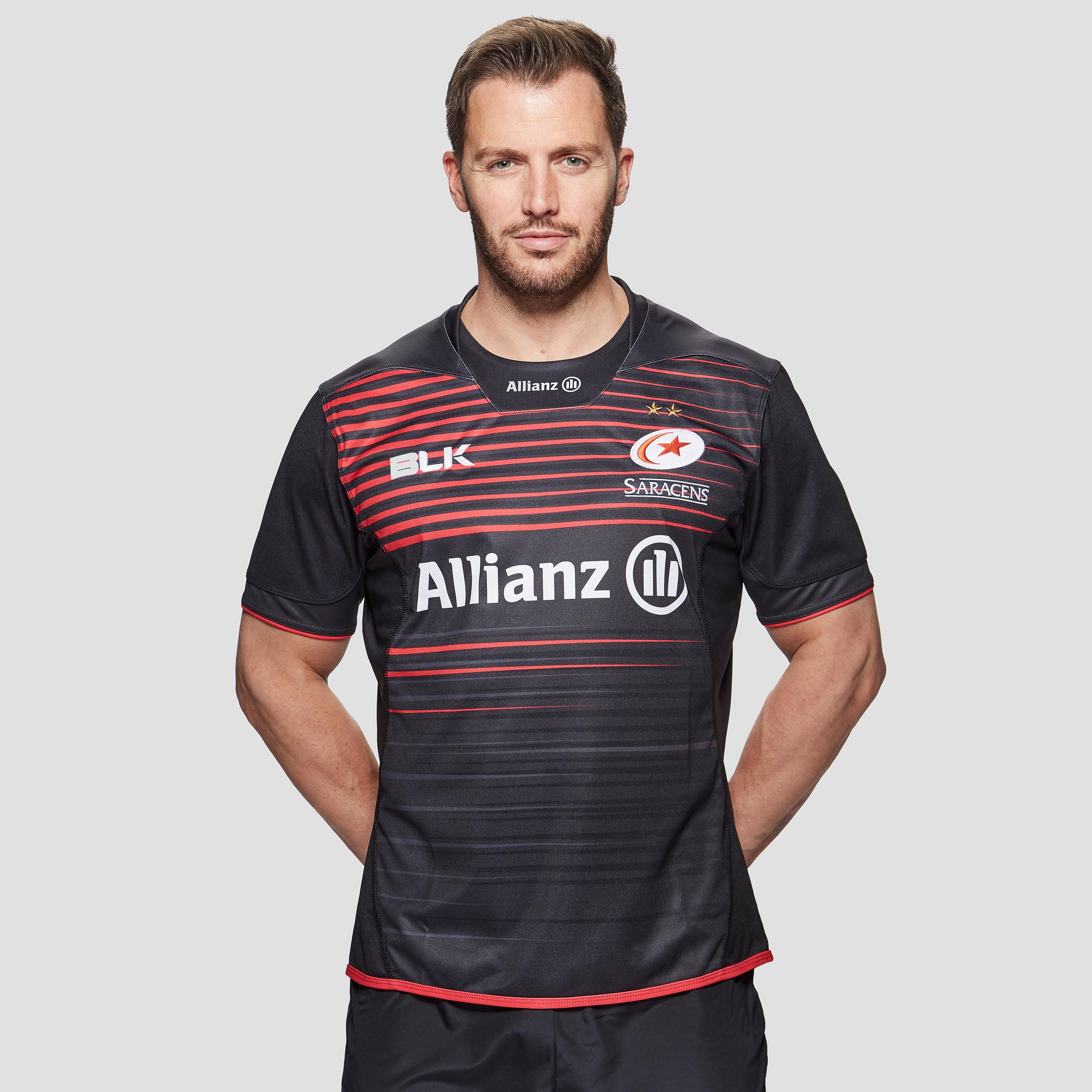 BLK Sport Sarcens 2017/18 Home Men's Replica Rugby Jersey
