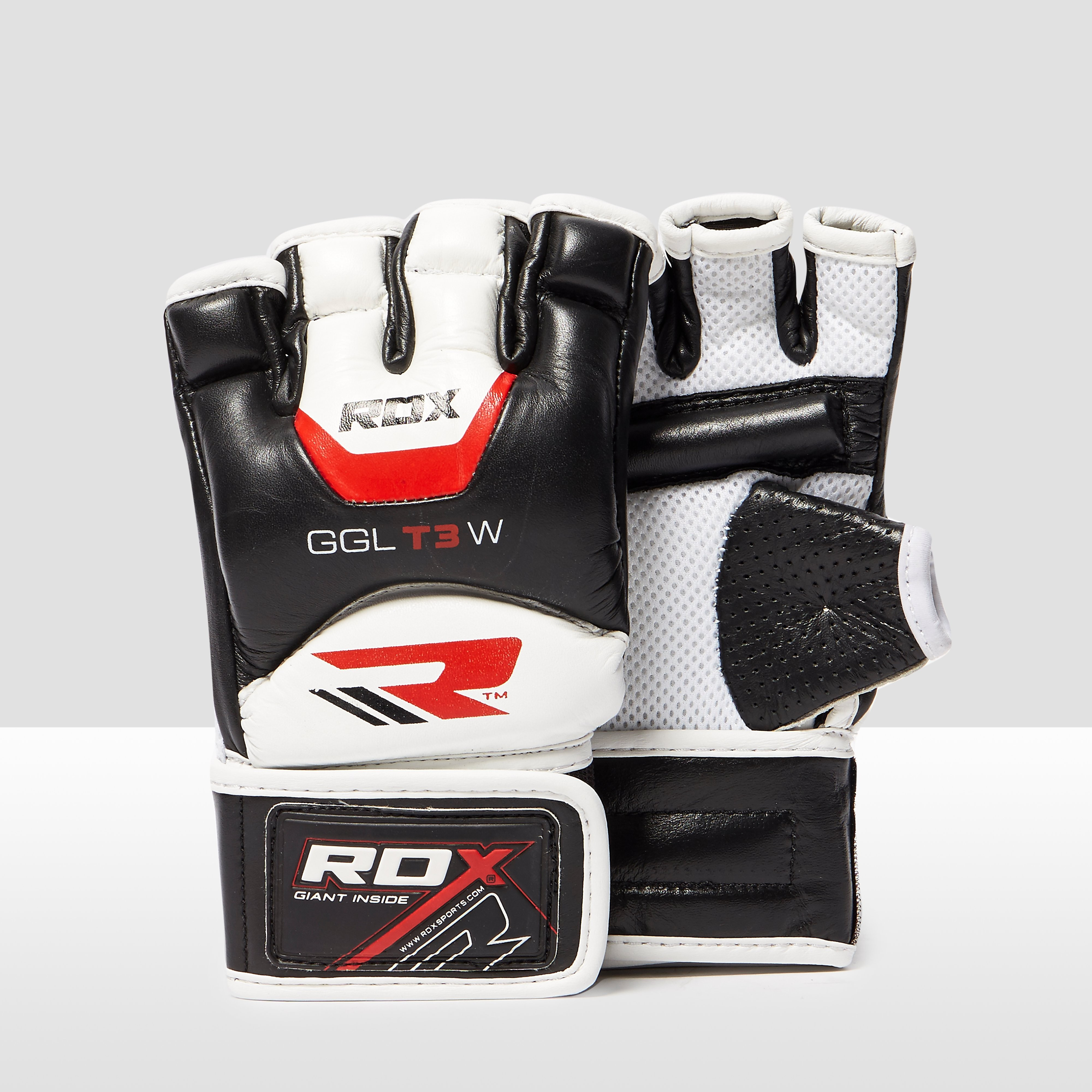 Rdx inc Leather Gel Men's Training Grappling Gloves