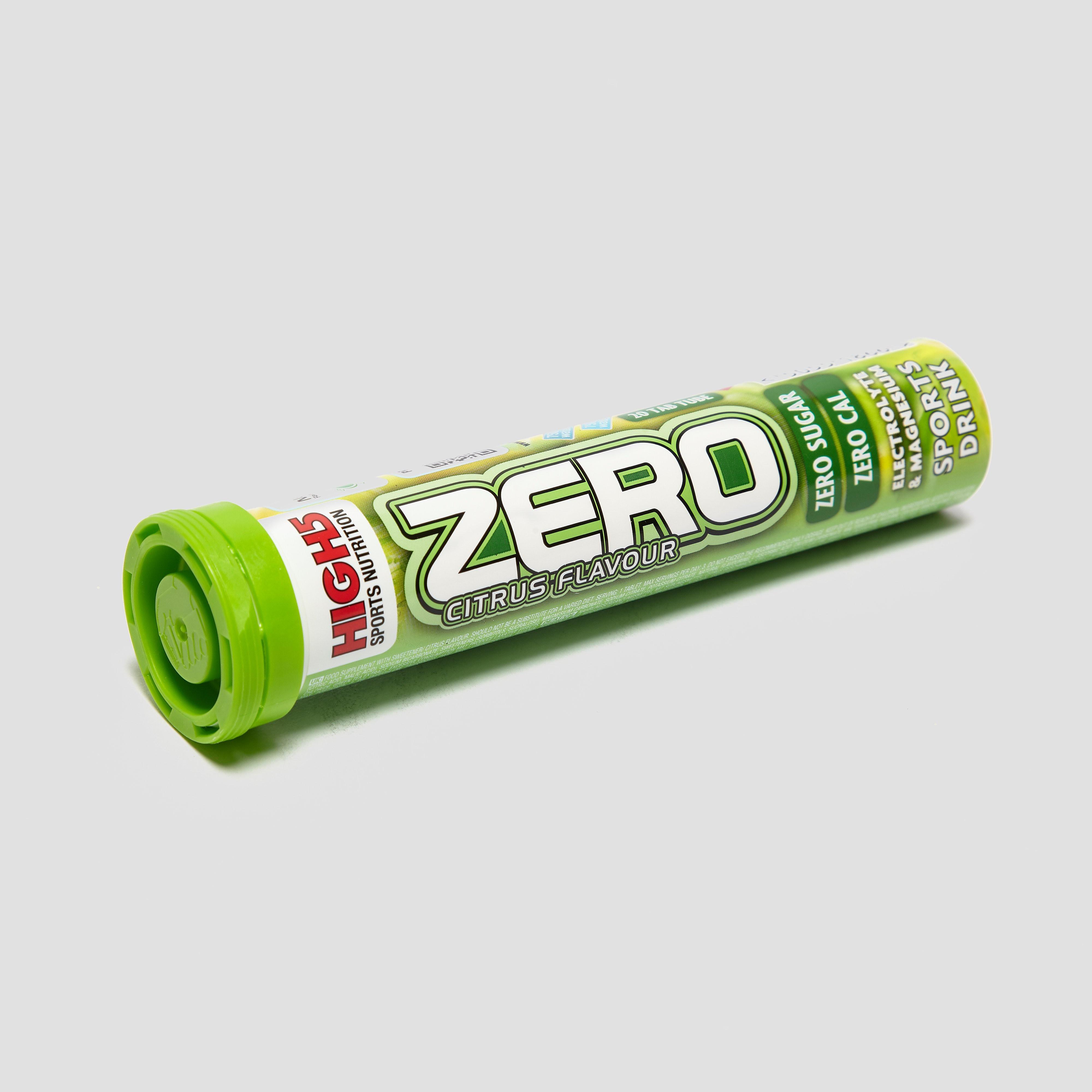 High 5 Zero Electrolyte Sports Drink Tab (20 Tabs)- Citrus