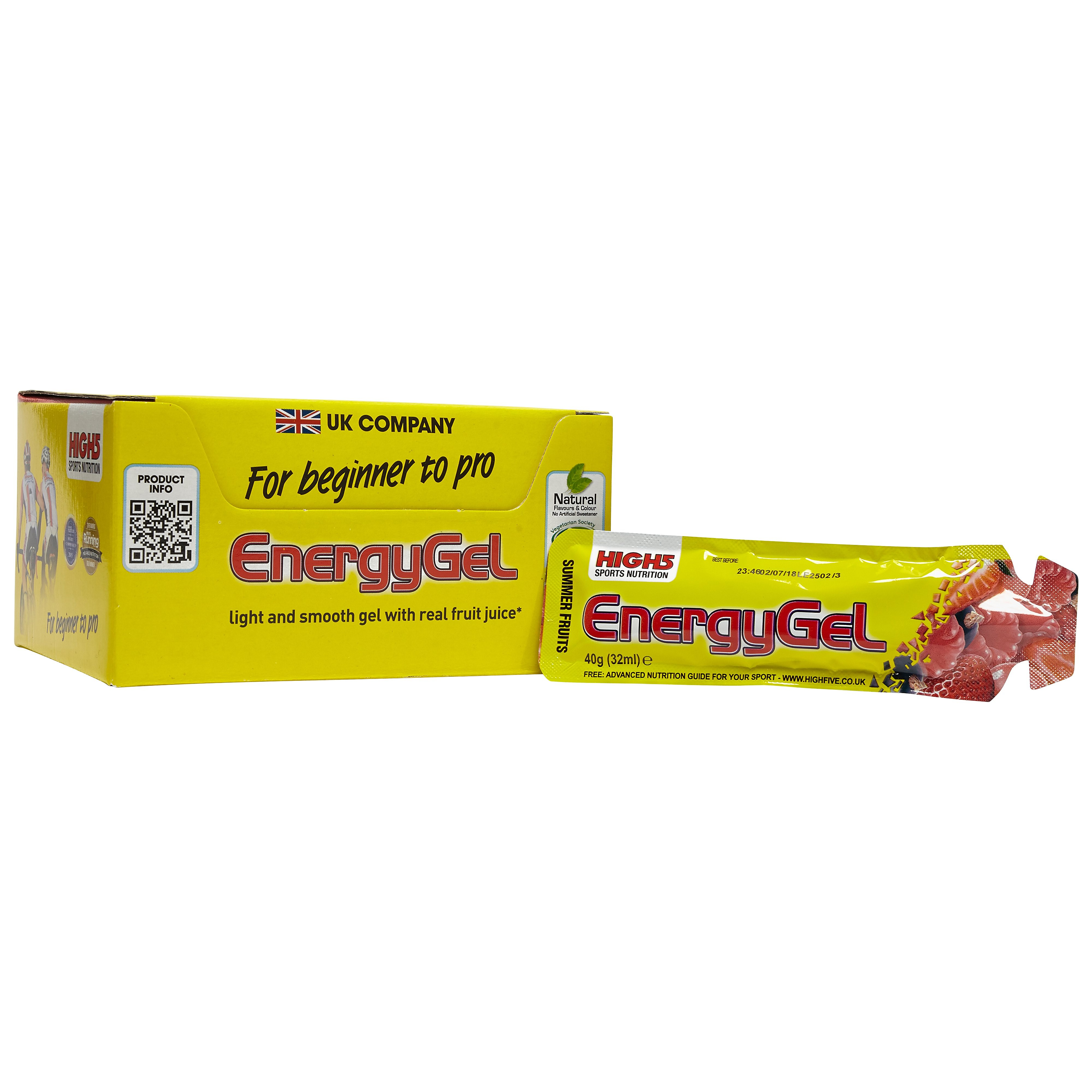 High 5 Energy Gel (20 Pack)- Summer Fruits