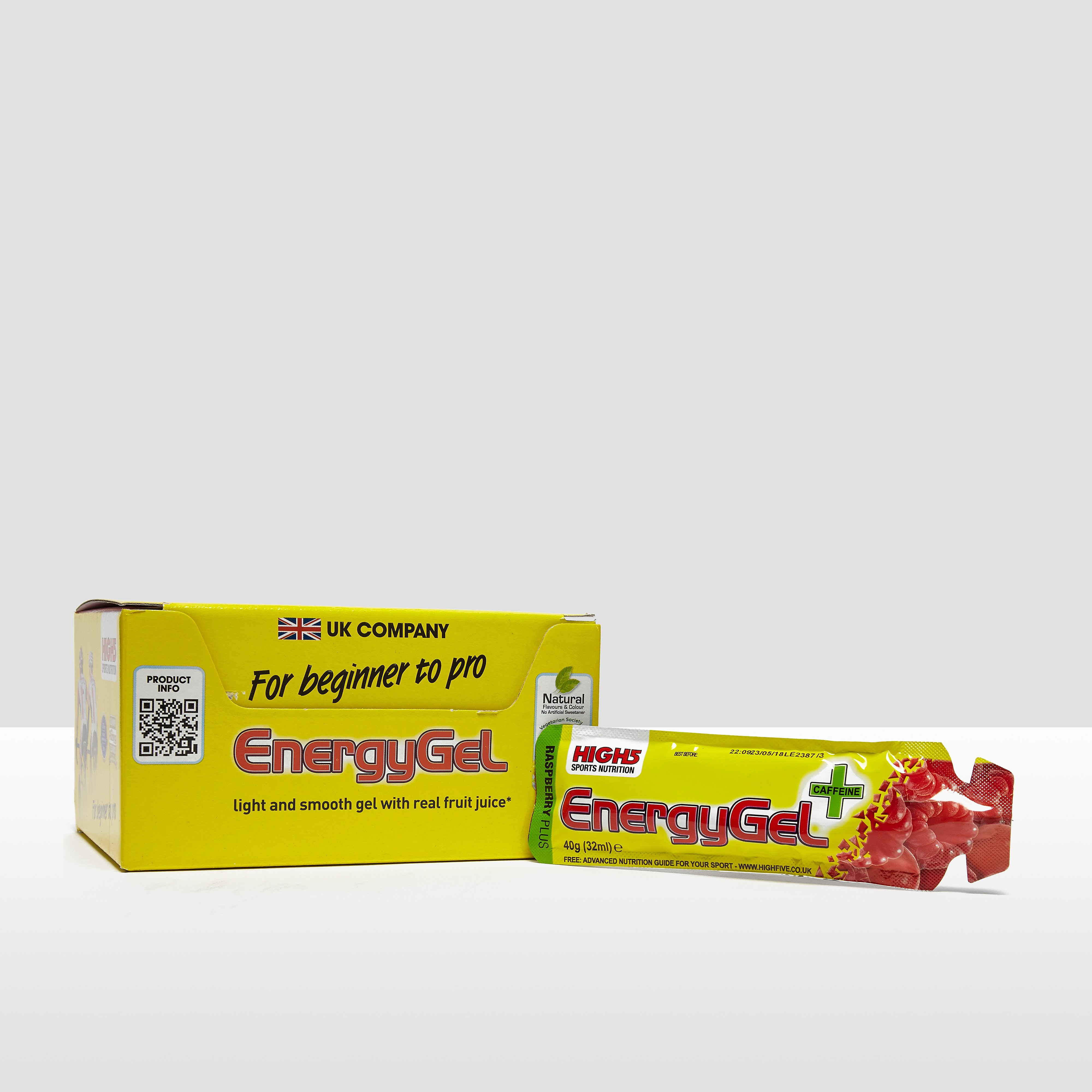 High 5 Energy Gel Plus (20 Pack)- Citrus Blast