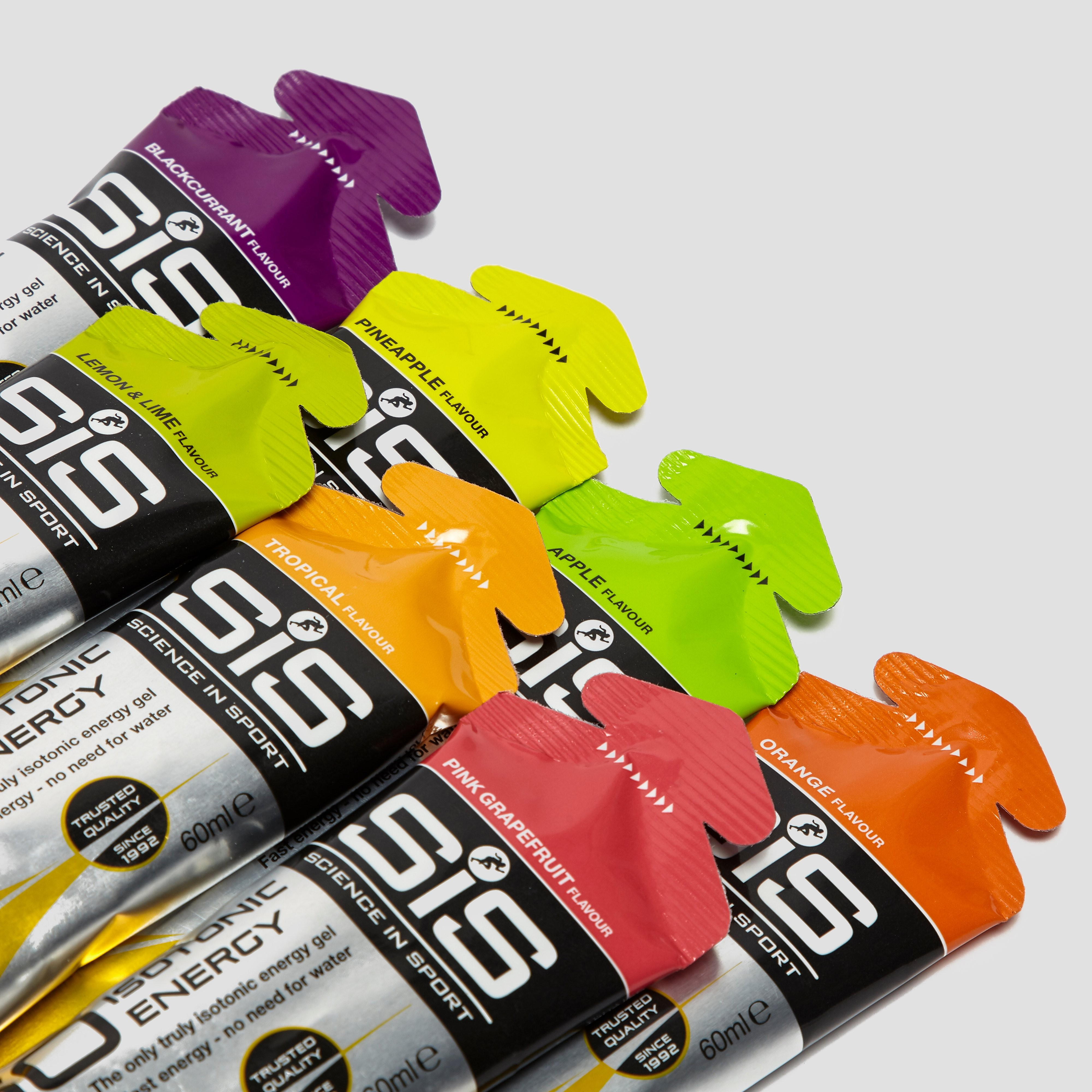 SIS GO Isotonic Energy Gel- (6 Pack) Mixed Flavours
